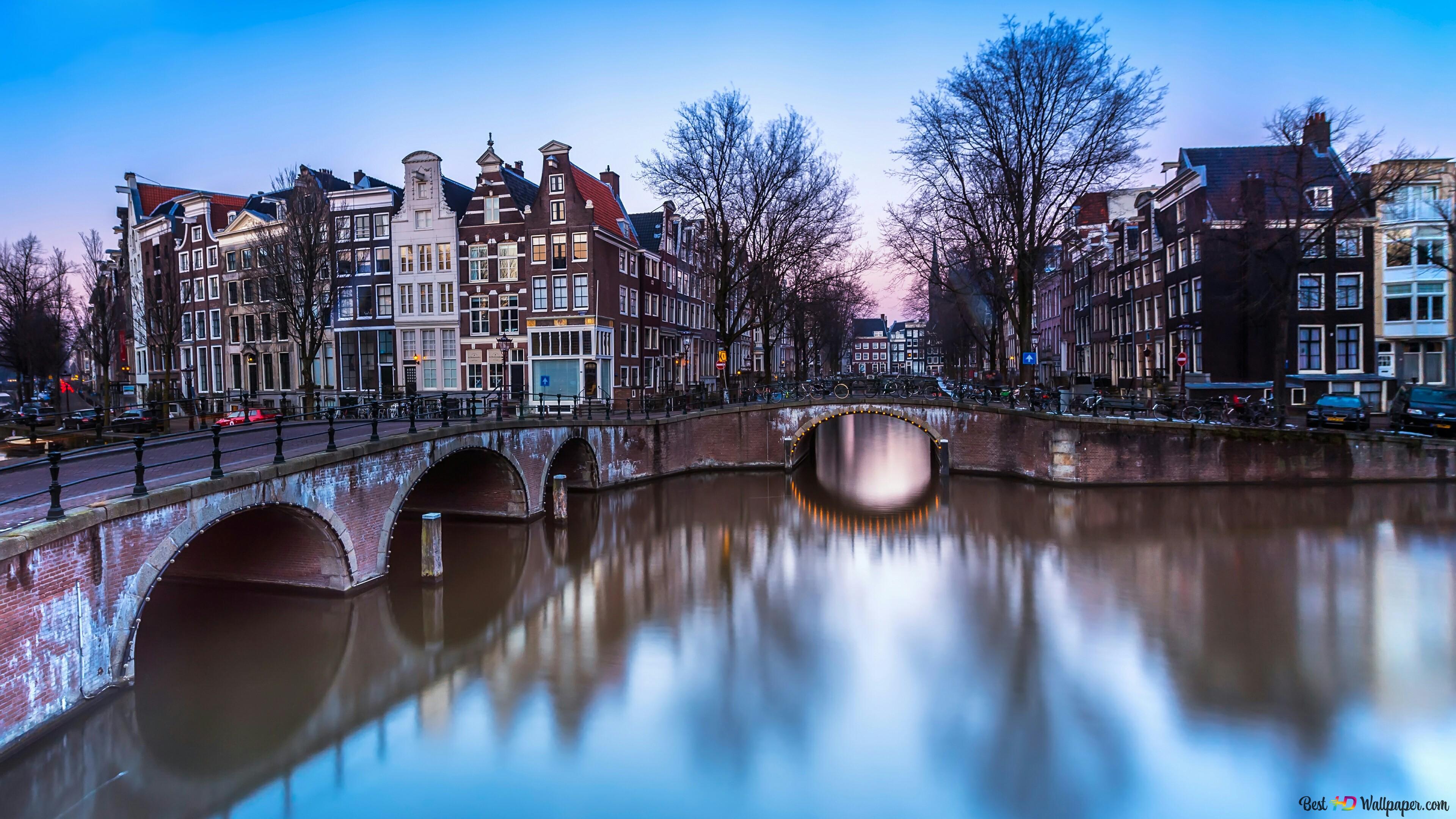 Calm Amsterdam Hd Wallpaper Download