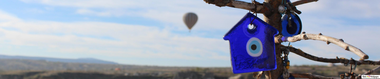cappadocia panorama evil eye protection hd wallpaper download
