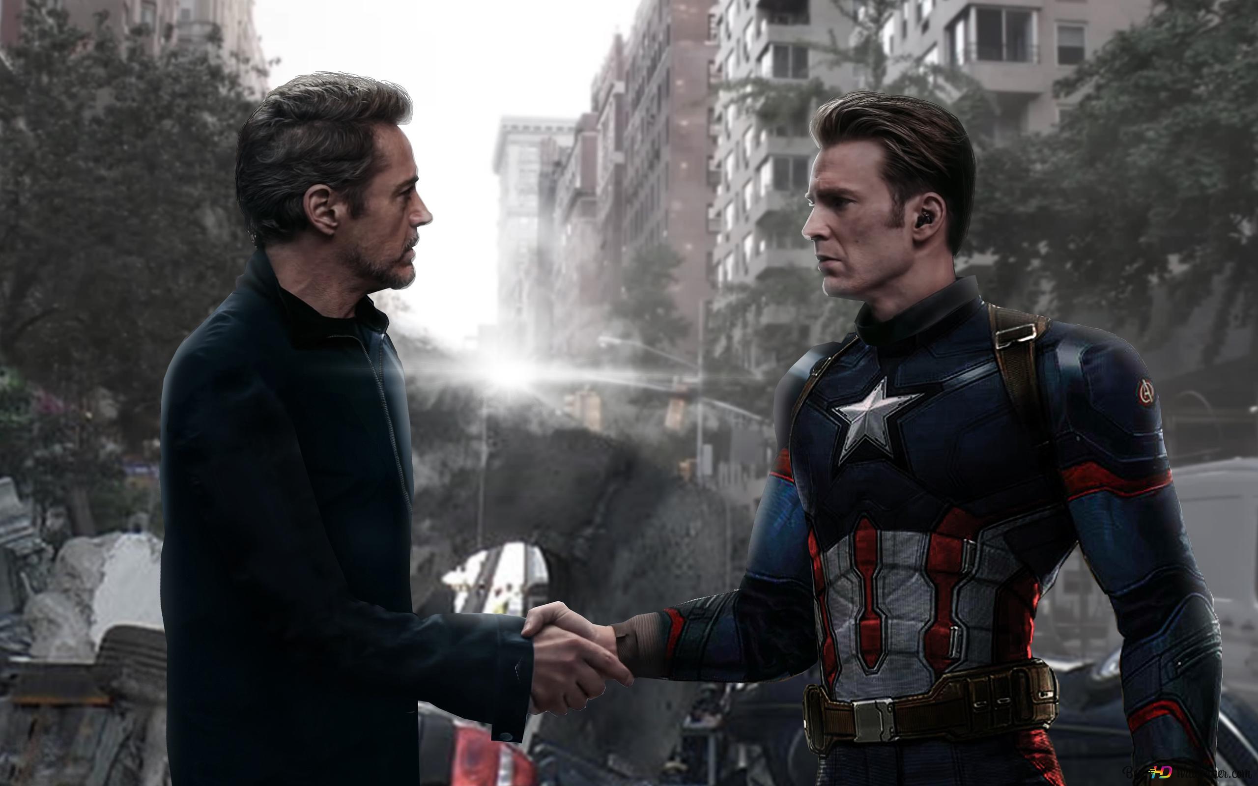 Capt America And Iron Man Endgame Hd Wallpaper Download