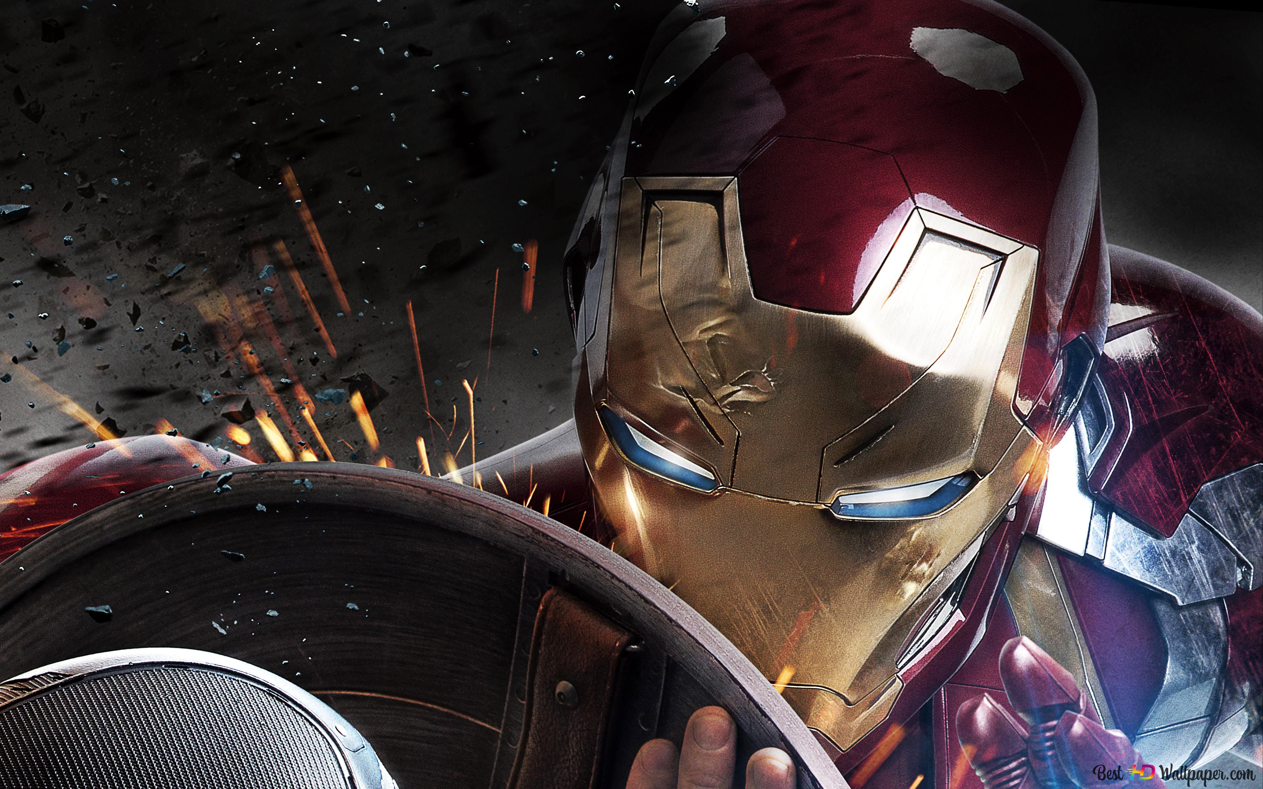 Captain America Civil War Hd Wallpaper Download