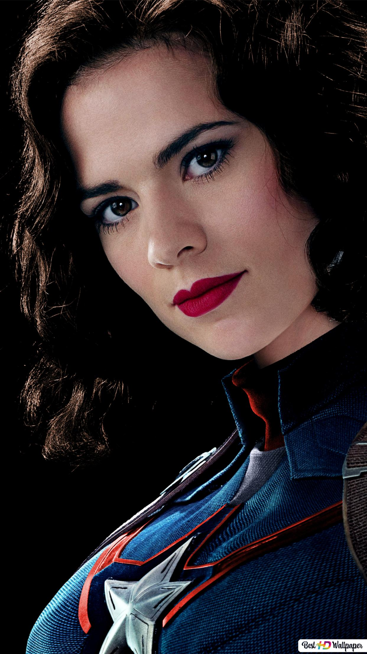 Captain America The First Avenger Peggy Carter Hd Wallpaper