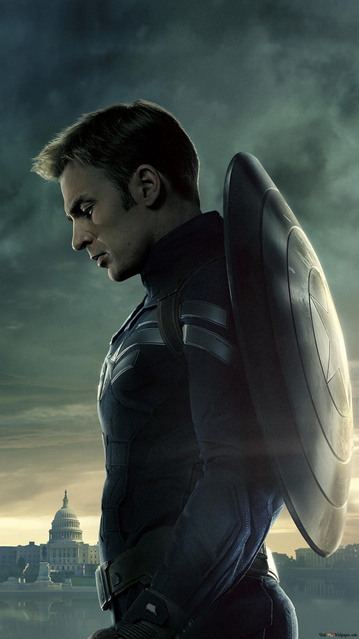 Captain America The Winter Soldier Chris Evans As Captain