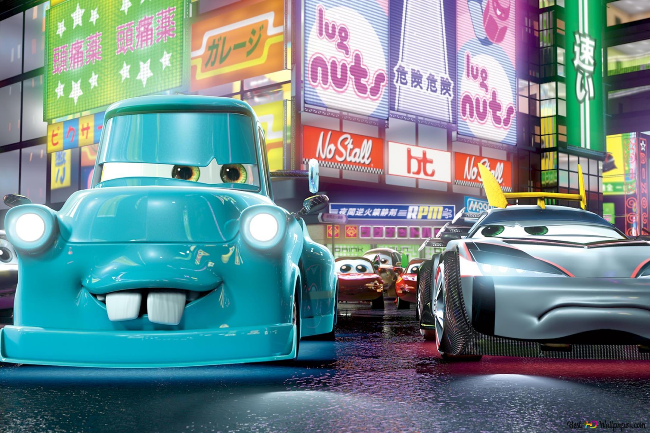Cars 2 Movie Hd Wallpaper Download