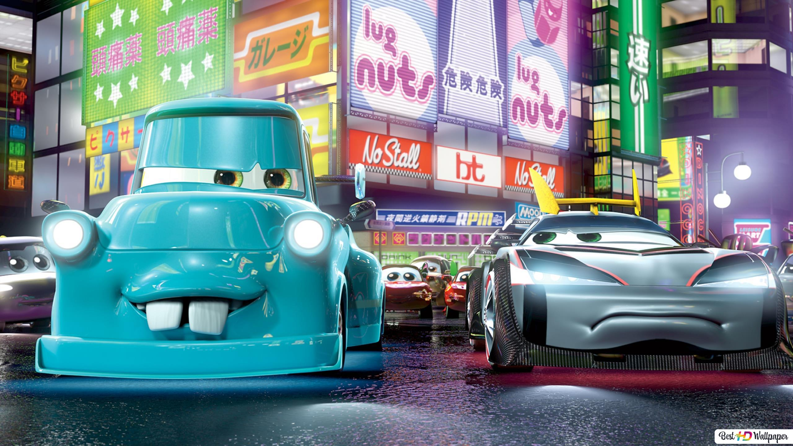 Cars 2 Movie Hd Wallpaper Download