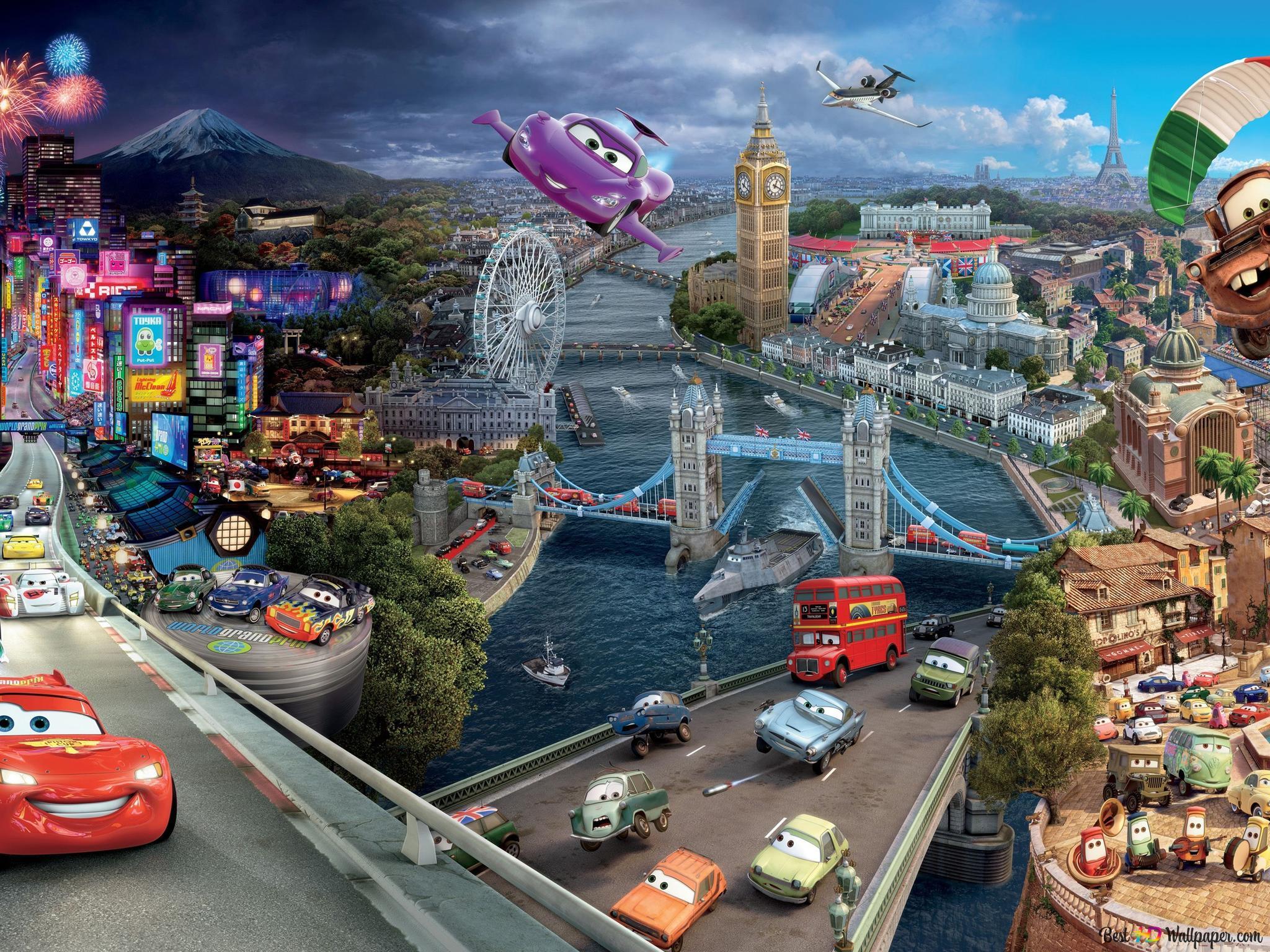 Cars 3 Movie Hd Wallpaper Download
