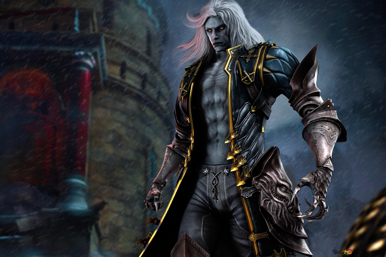 Castlevania Lords Of Shadow 2 Alucard Hd Wallpaper Download