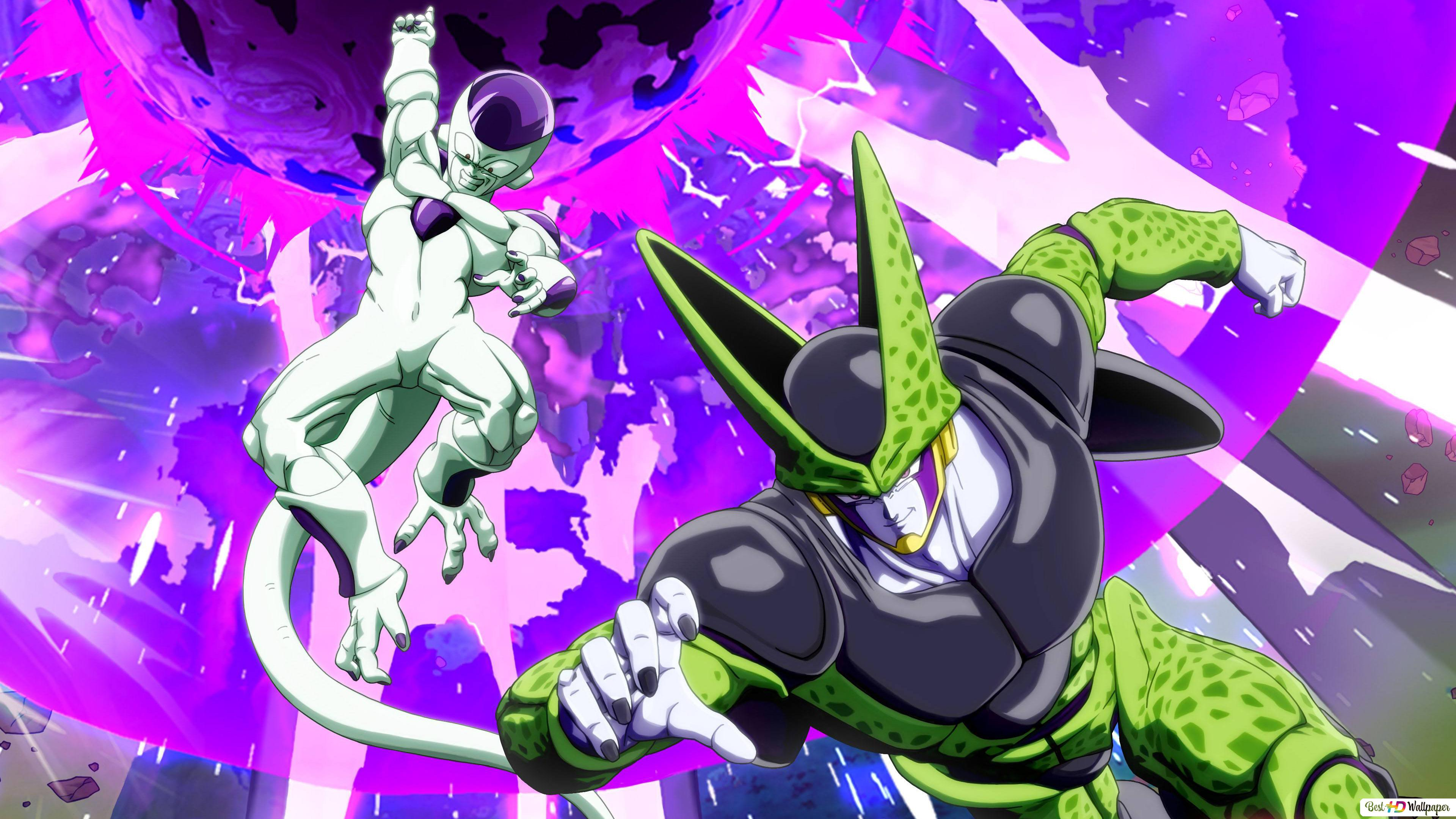Cell And Frieza Of Dragonball Z Hd Wallpaper Download