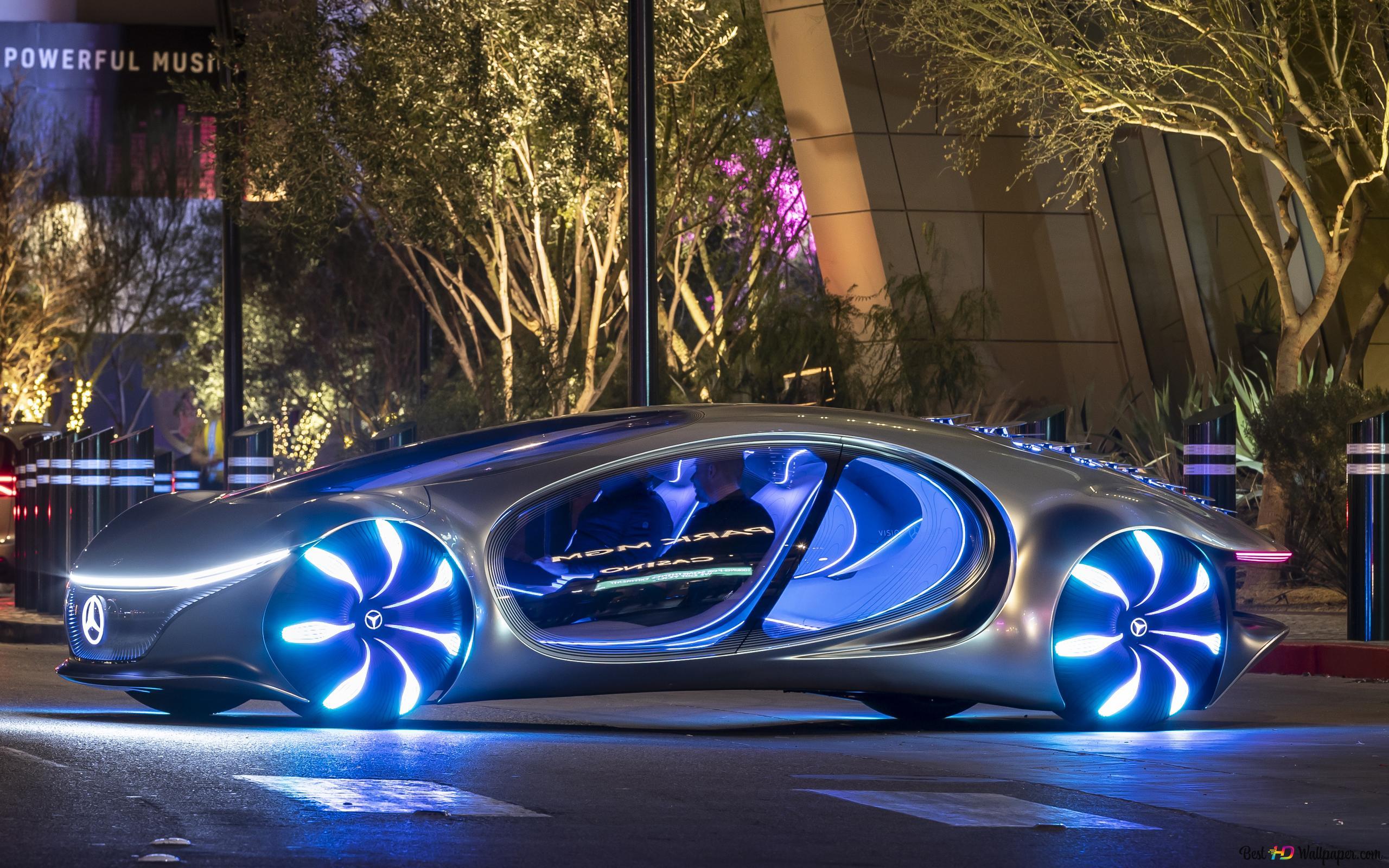 Ces 2020 Mercedes Benz Vision Avtr Futuristic Car Hd Wallpaper Download