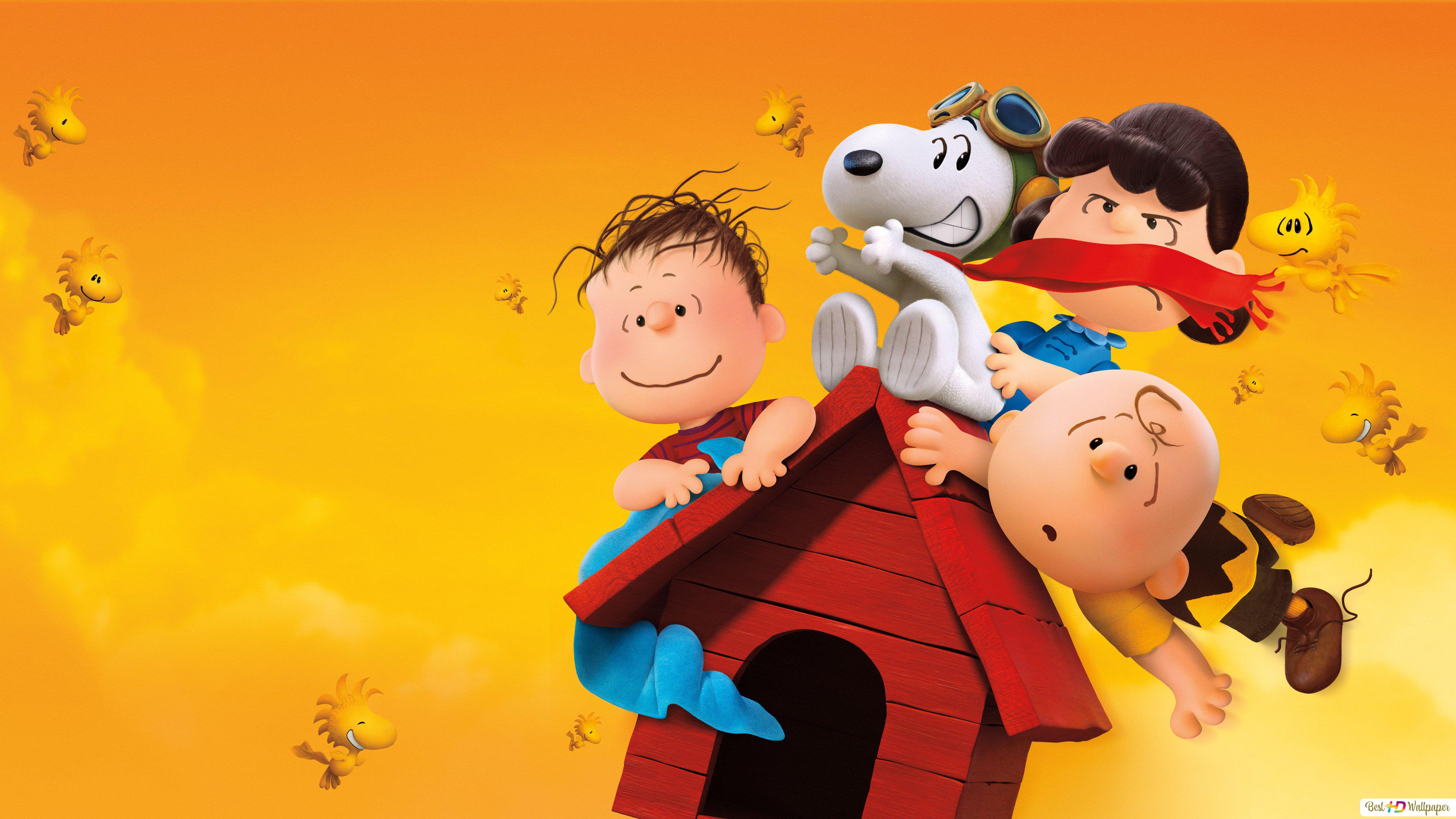 Charlie S Friends And Snoopy Hd Wallpaper Download