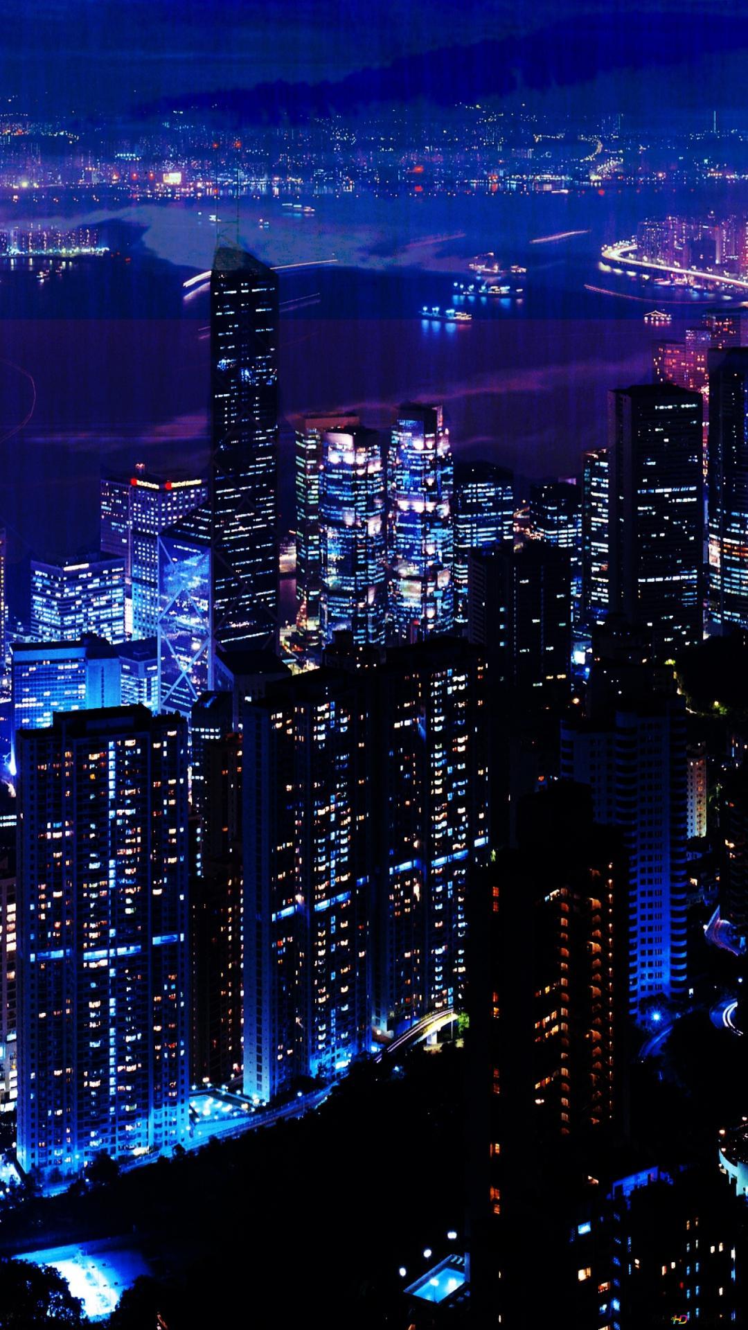 城市夜景高清壁紙下載