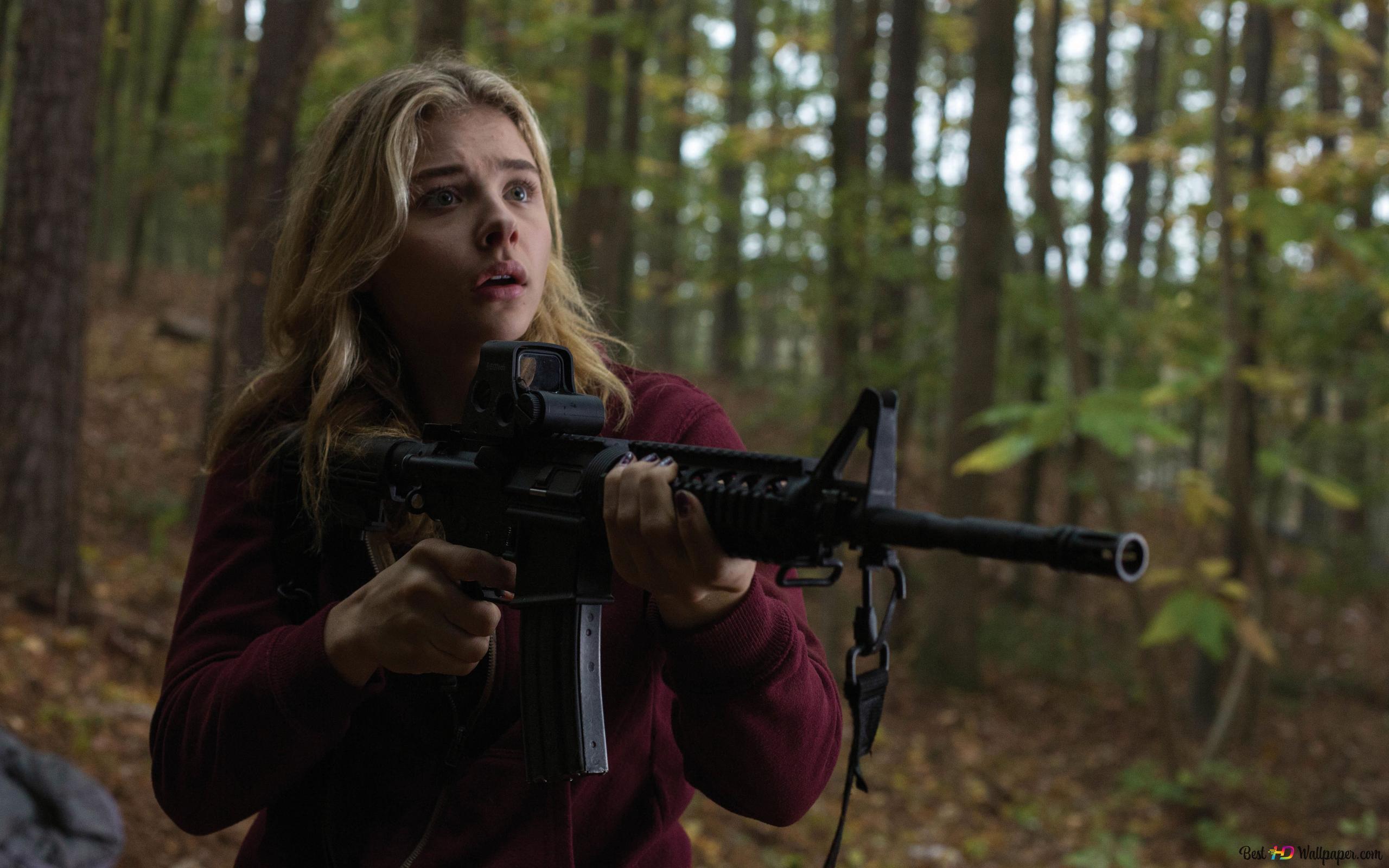 銃を持つ少女 Hd壁紙のダウンロード