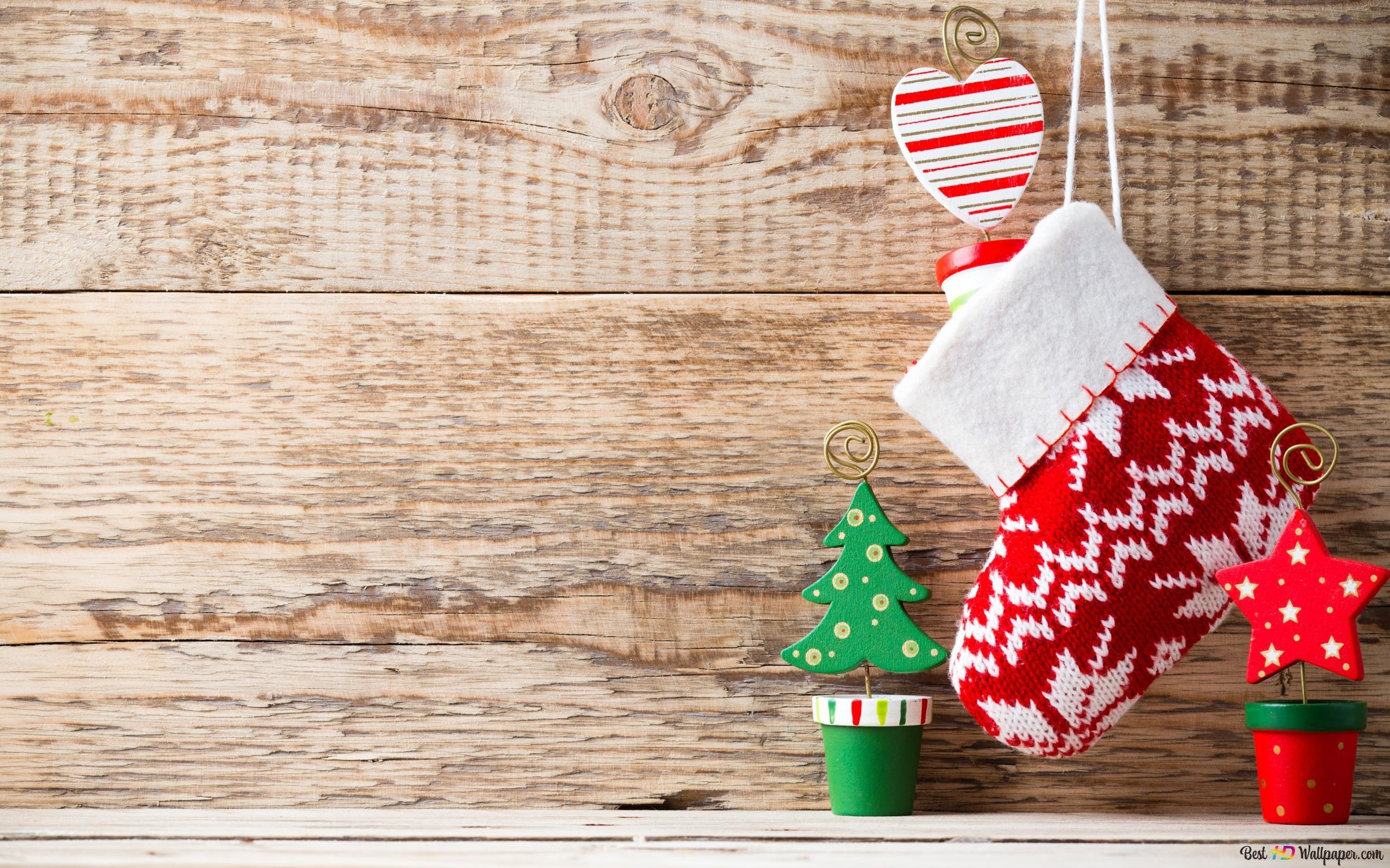 Christmas Cute Decoration Hd Wallpaper Download