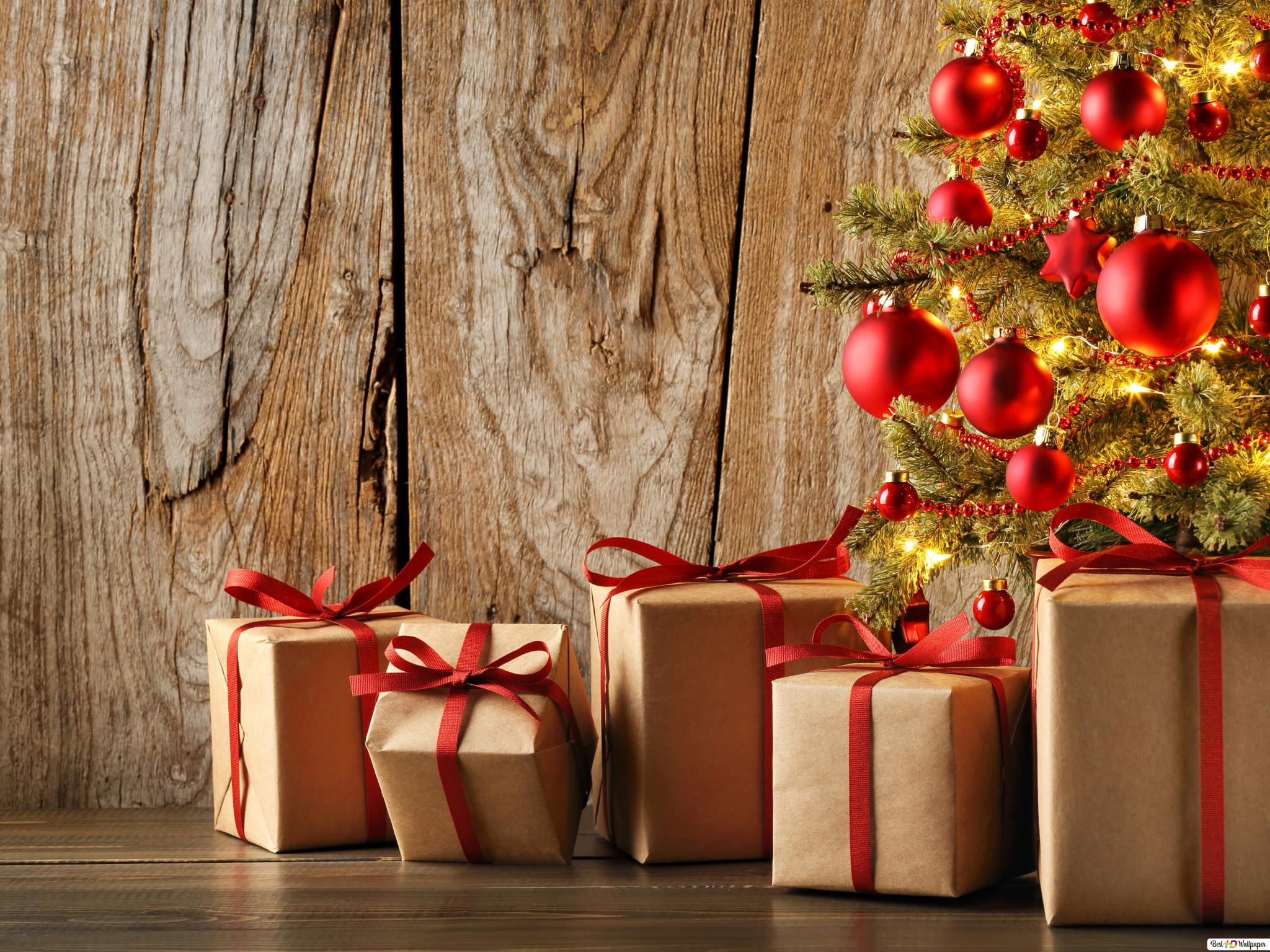 Christmas Gift Hd Wallpaper Download