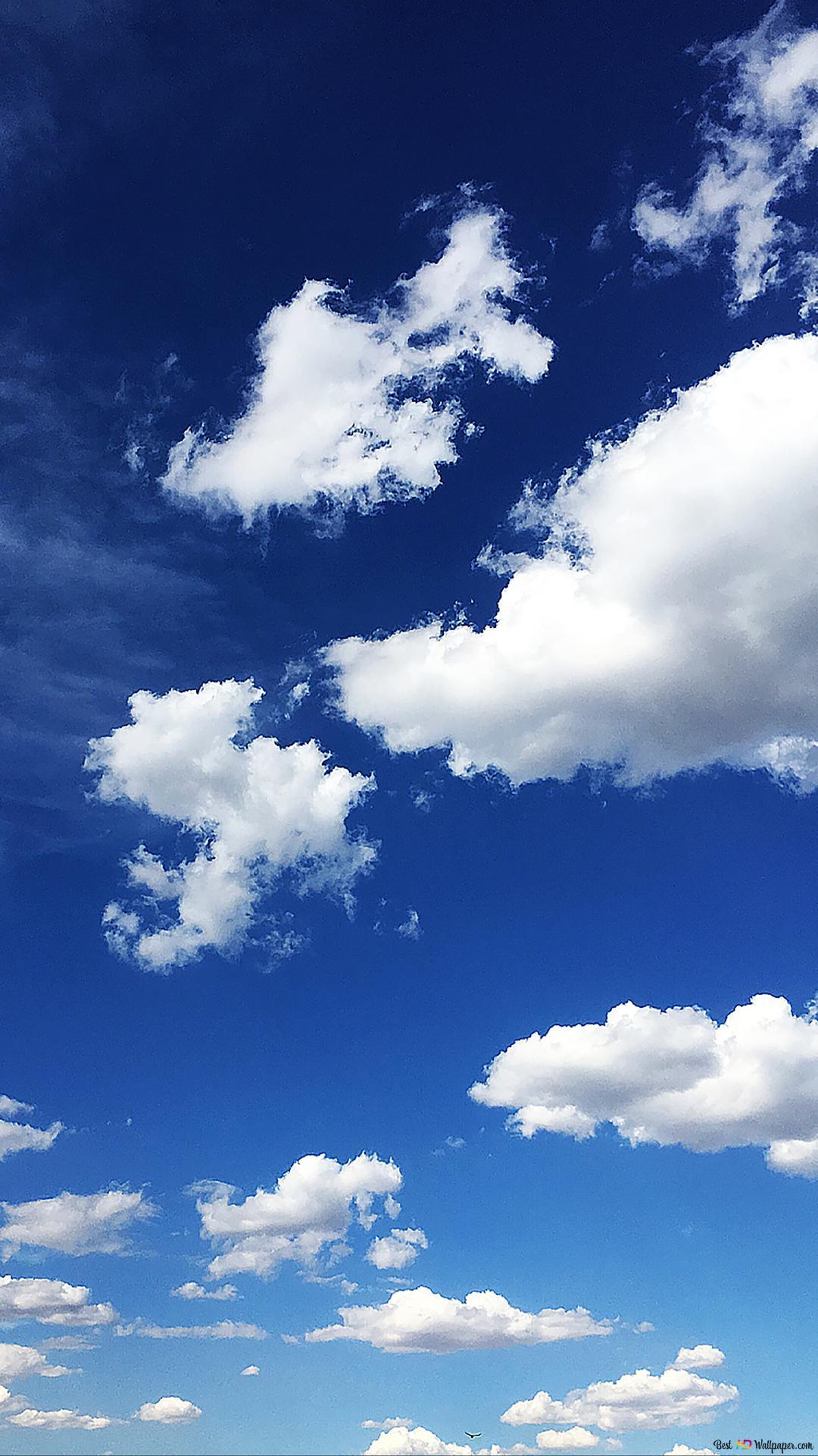 Cielo Azzurro E Nuvole Download Di Sfondi Hd