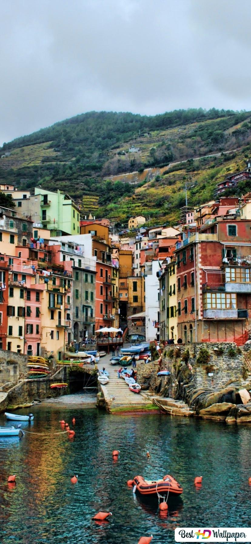 Cinque Terre Italy Hd Wallpaper Download