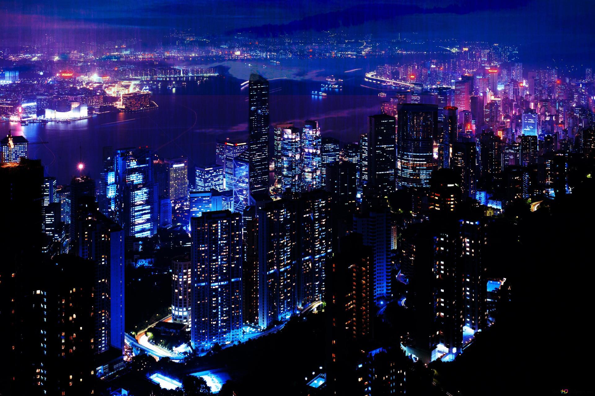 фото ночного города в отличном качестве нужно