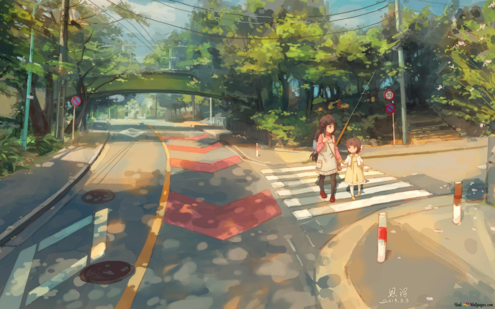 Clannad Fuko Ibuki Ushio Okazaki Hd Wallpaper Download