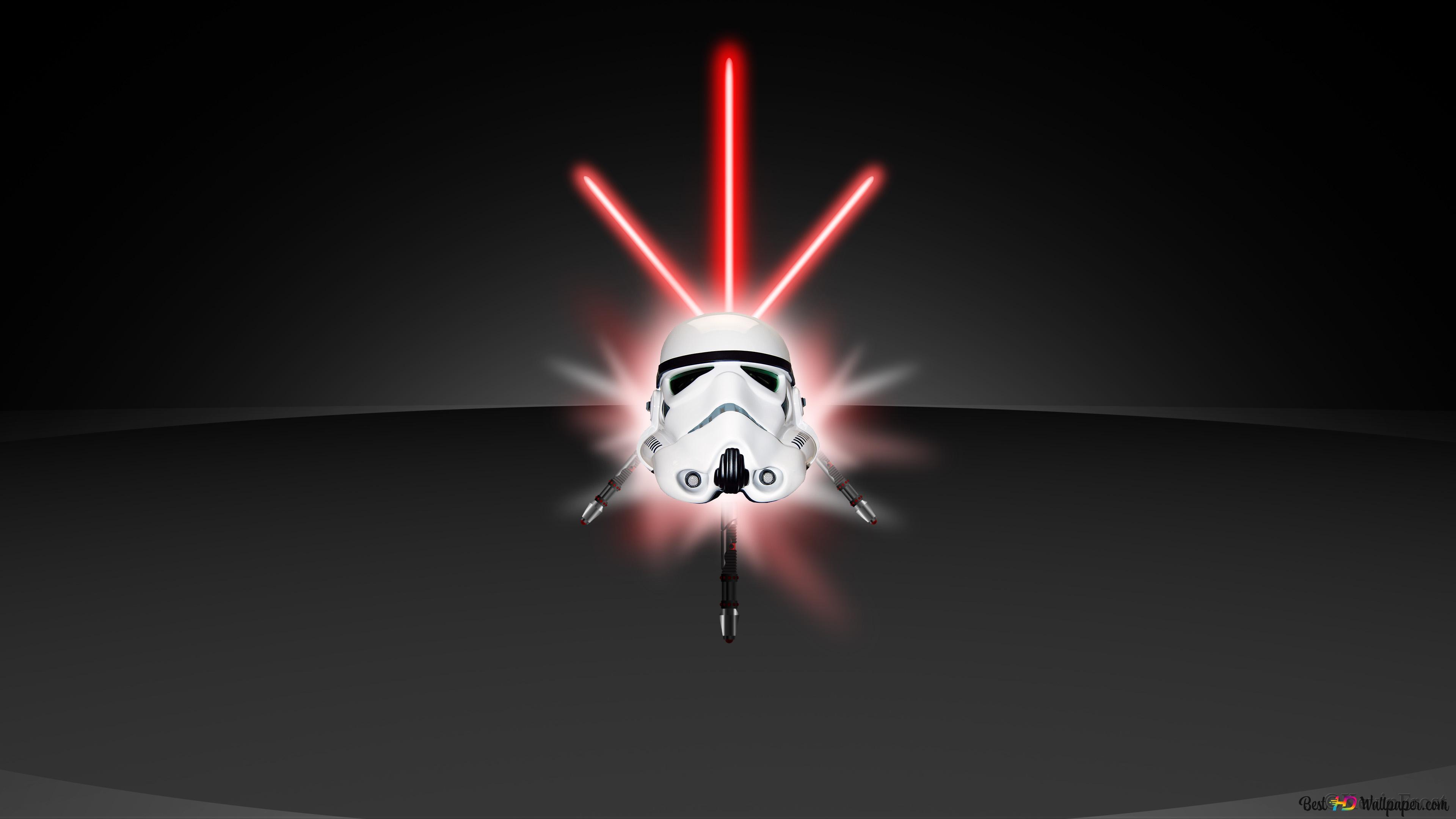 Clone trooper & lightsaber HD wallpaper