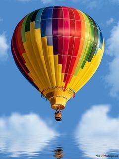 Colorful Hot Air Balloon Hd Wallpaper Download