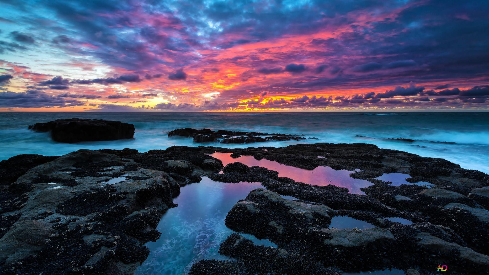 Colorful Sky Hd Wallpaper Download