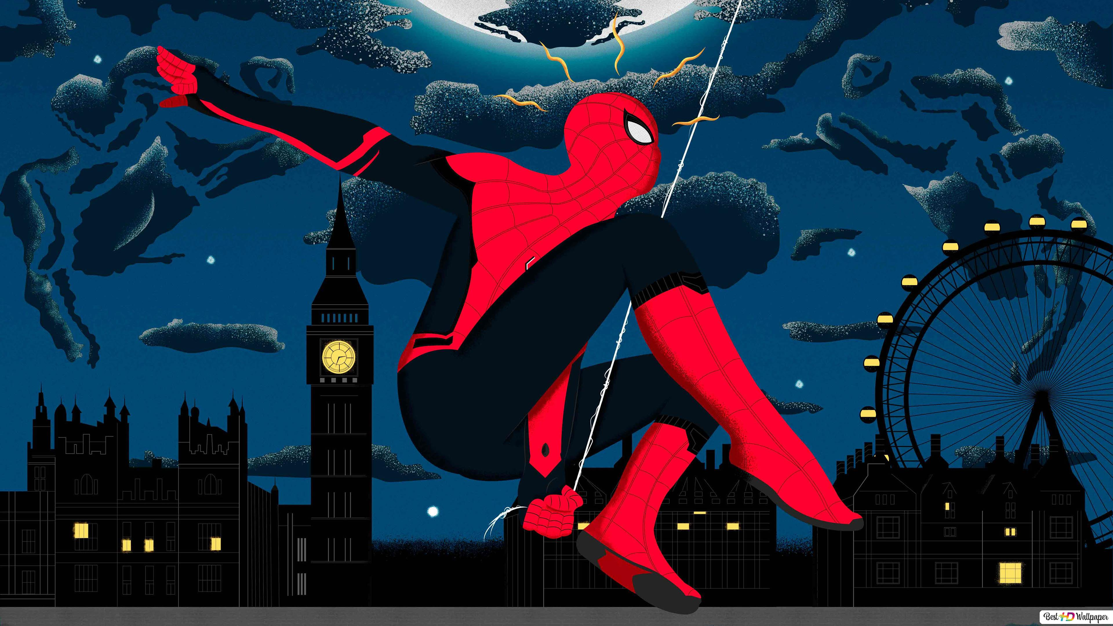 Comics Spider Man Far From Home Hd Wallpaper Download