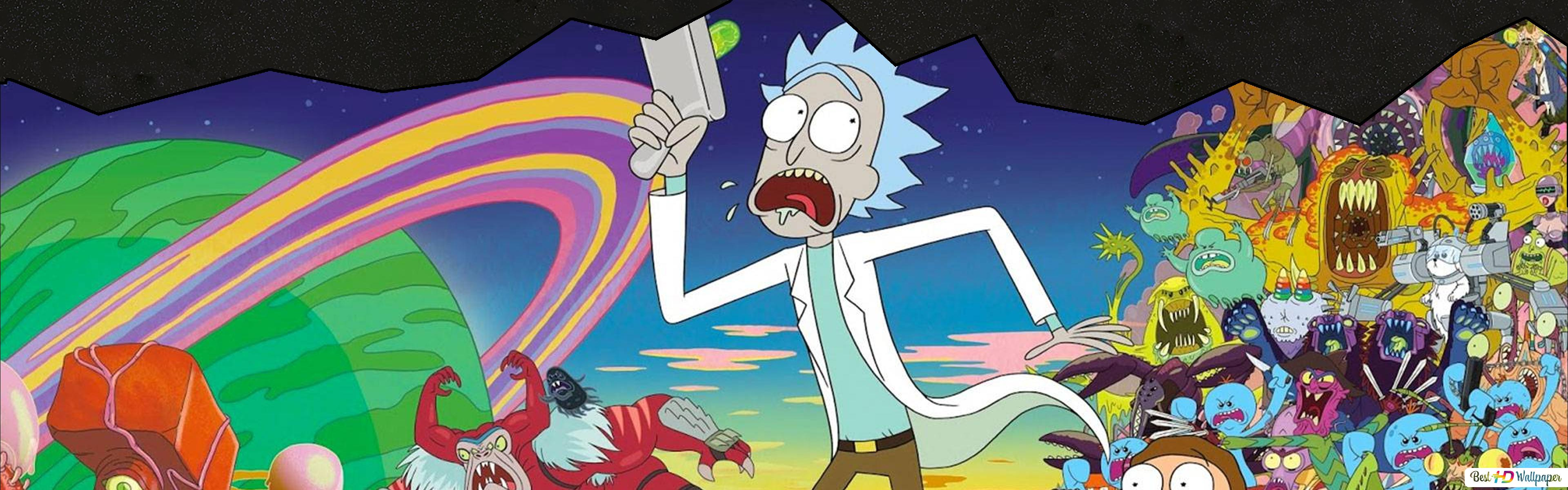 Crazy Rick Hd Wallpaper Download