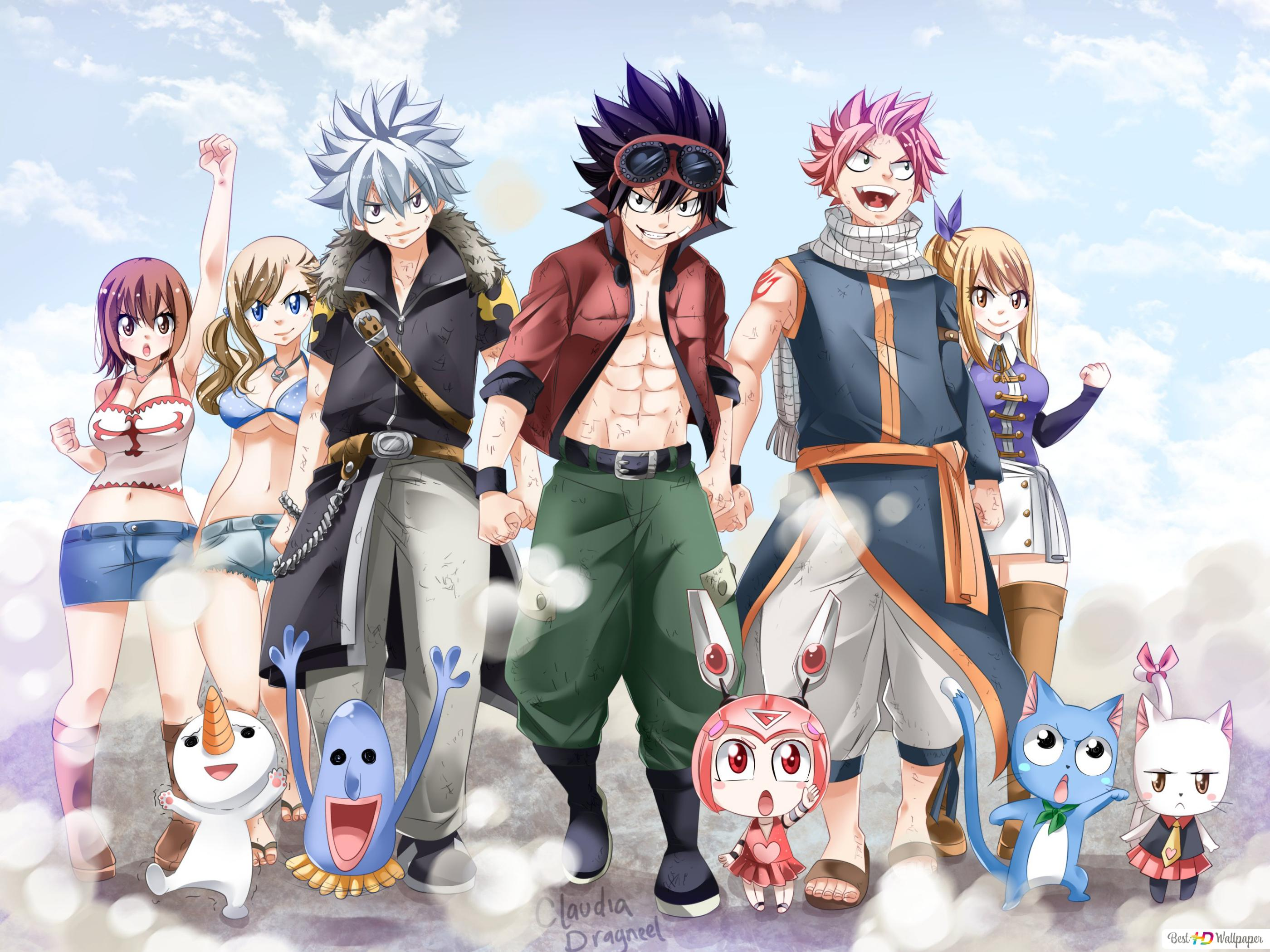 Crossover Rave Master Edens Zero Fairy Tail Hd Wallpaper