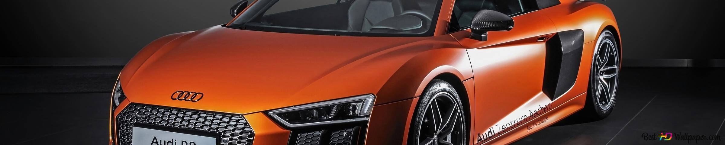 custom audi r8 car design wallpaper 2400x480 11605 121