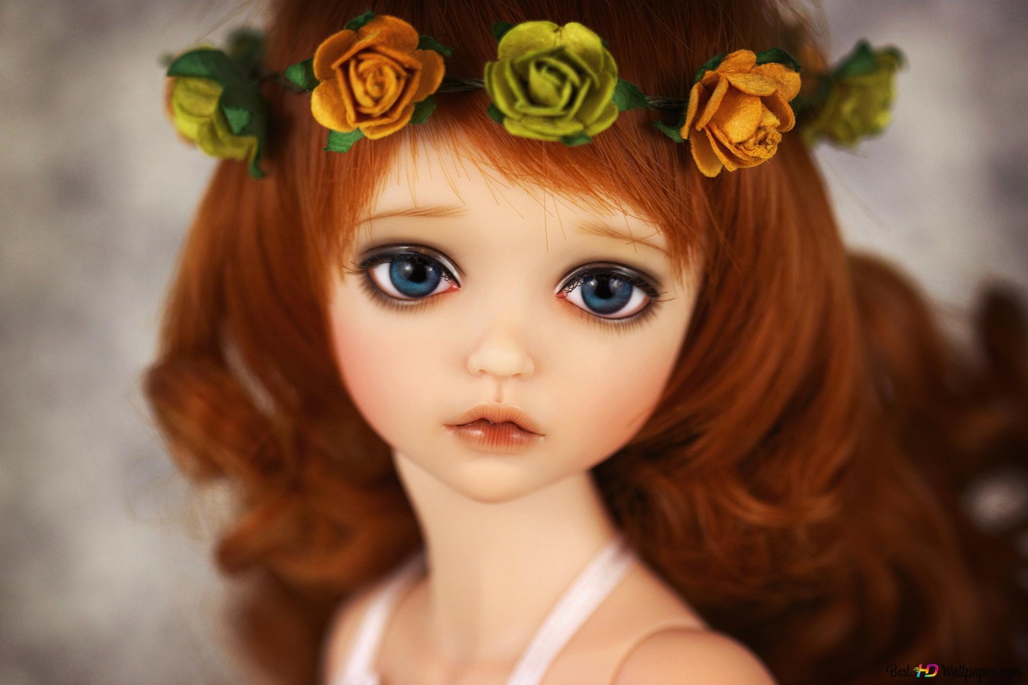 Cute Doll HD wallpaper download