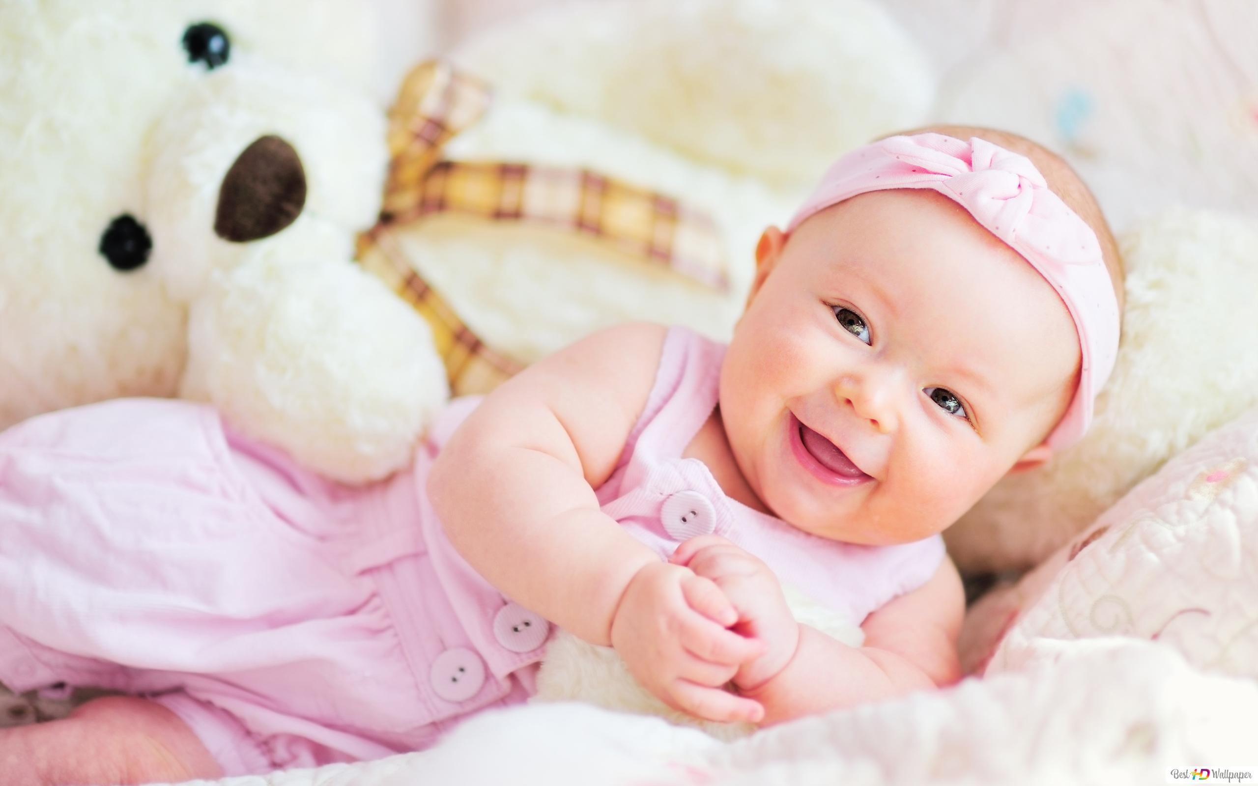 Cute Smiling Baby Hd Wallpaper Download