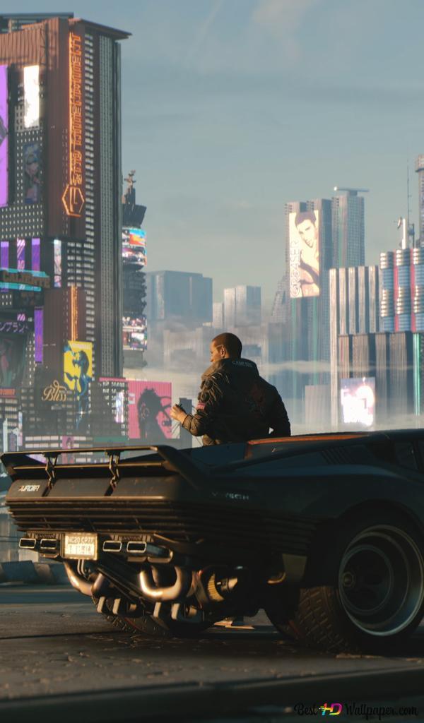 Cyberpunk 2077 2019 Night City Hd Wallpaper Download