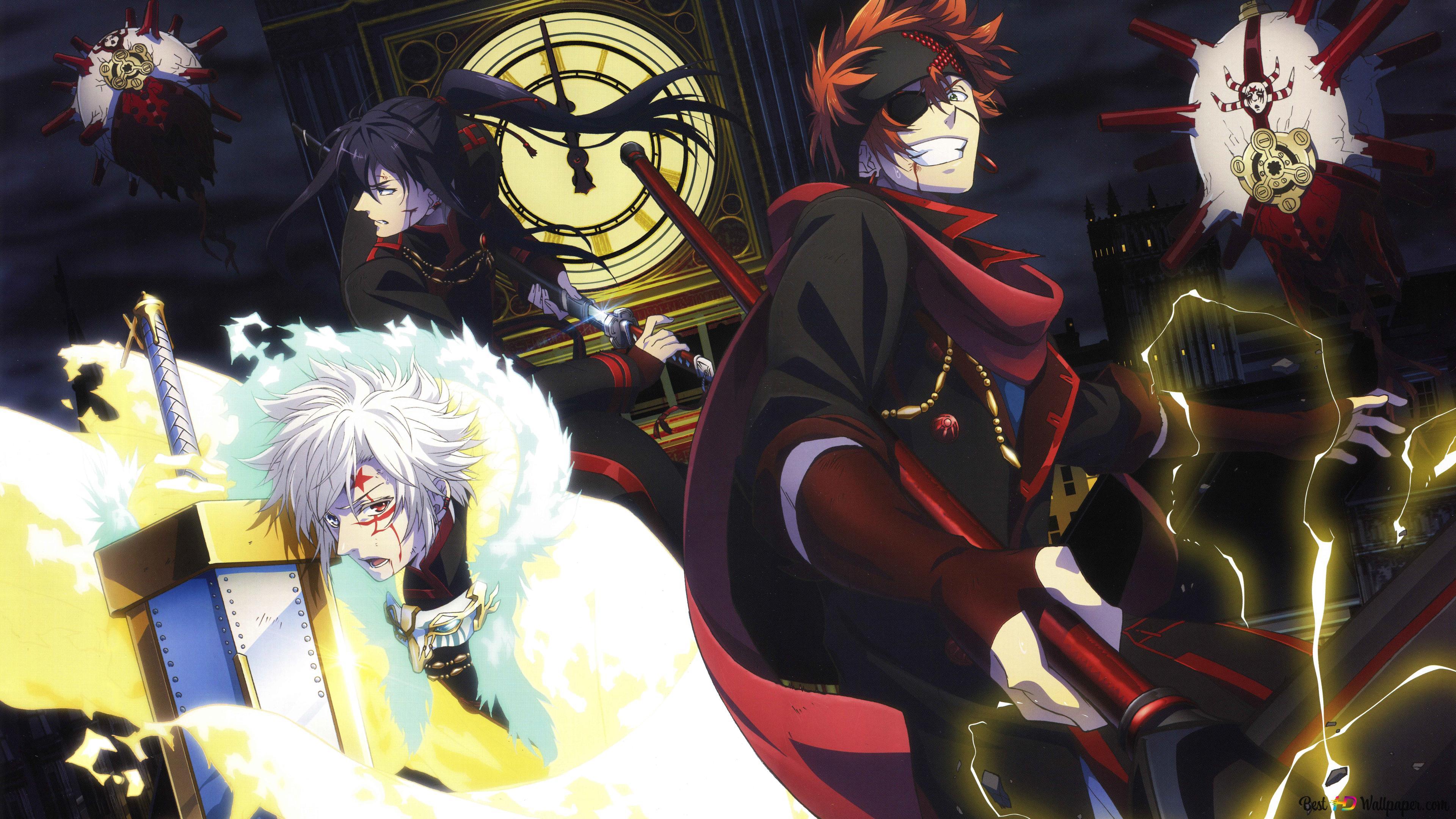 D Gray Man Anime Hd Wallpaper Download
