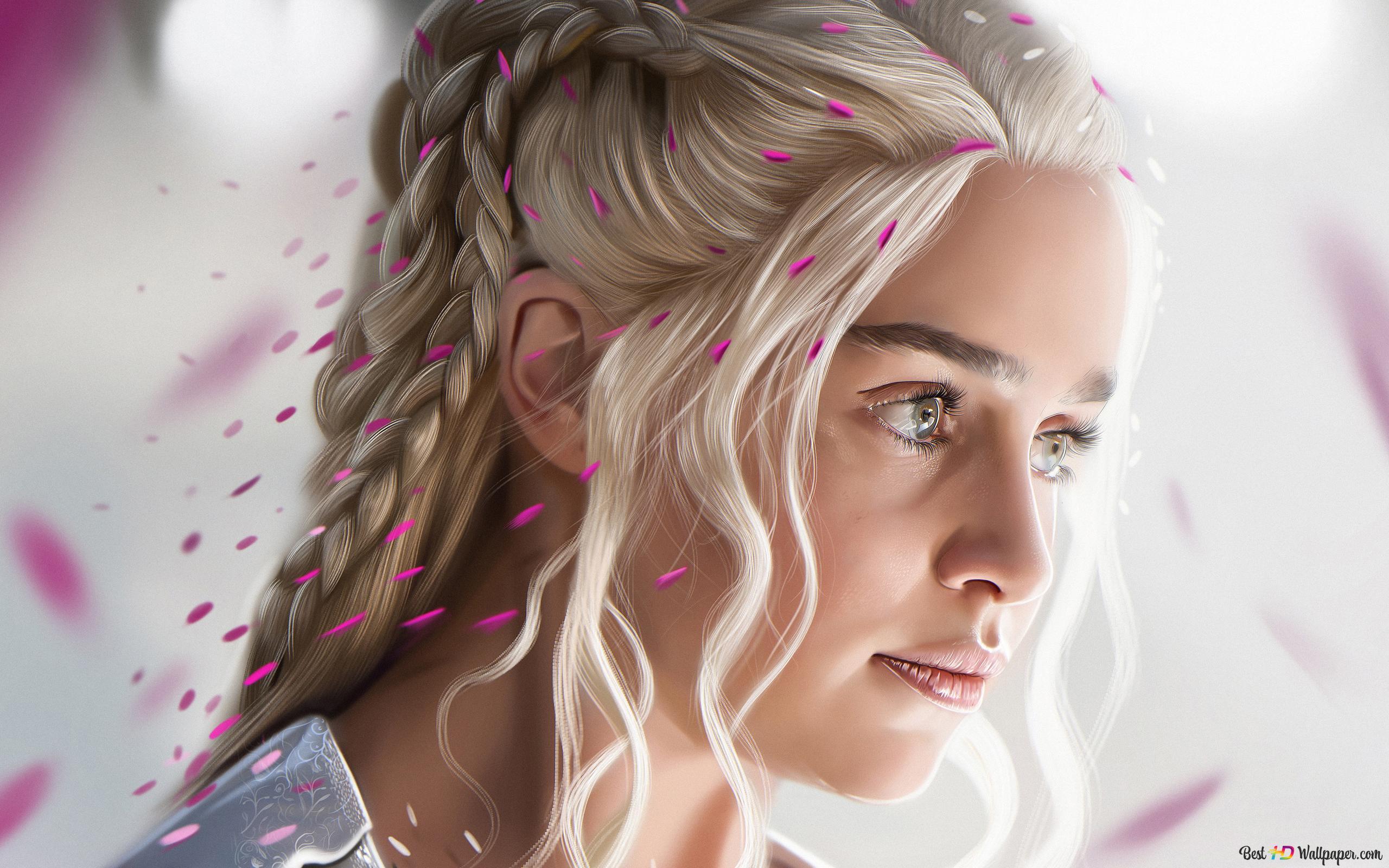 Daenerys Stormborn Of The House Targaryen Hd Wallpaper Download