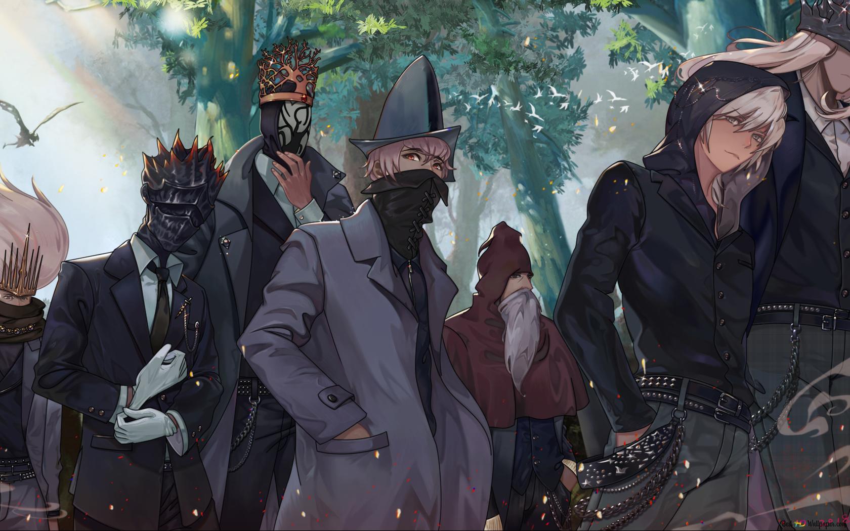 ダークソウルiii男性キャラクター Hd壁紙のダウンロード