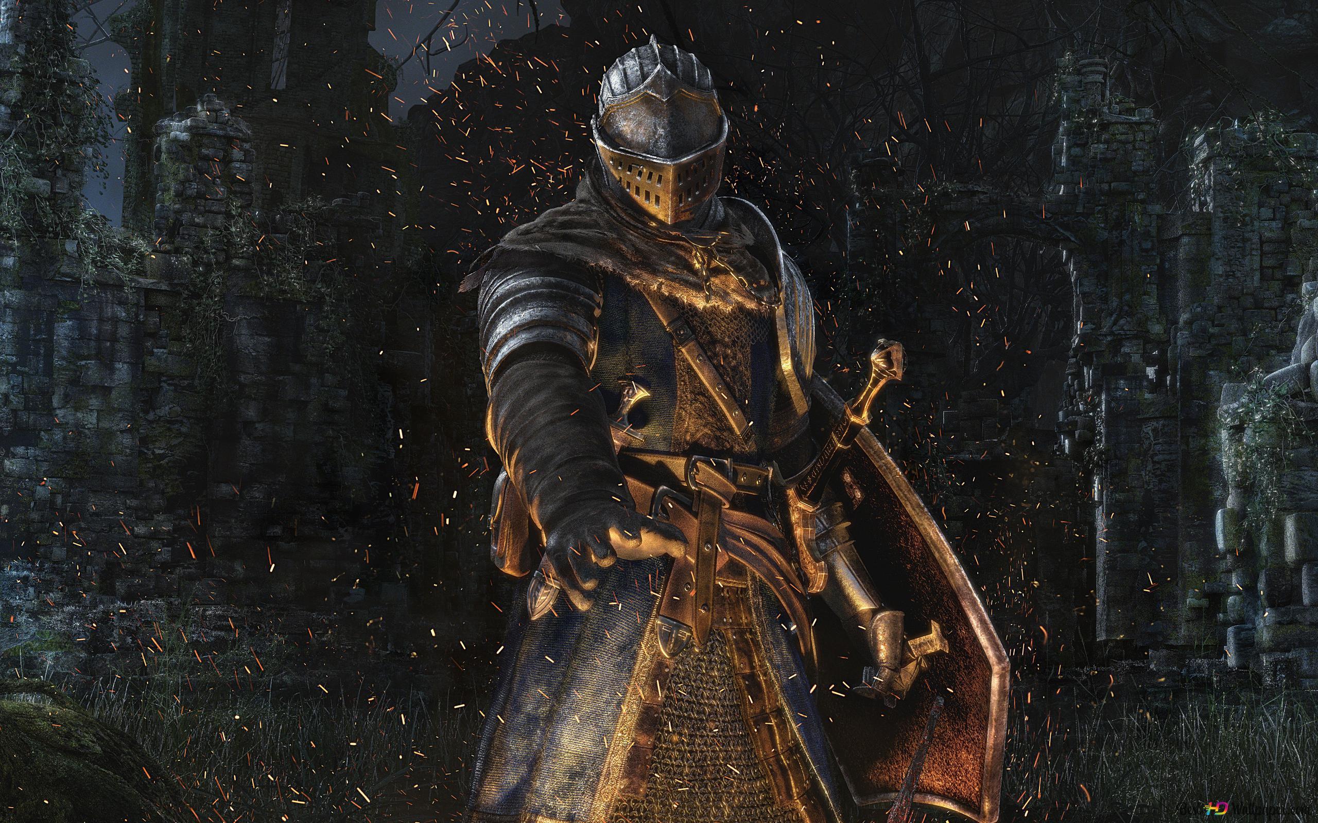 Dark Souls Gioco Armatura Del Cavaliere Download Di Sfondi Hd