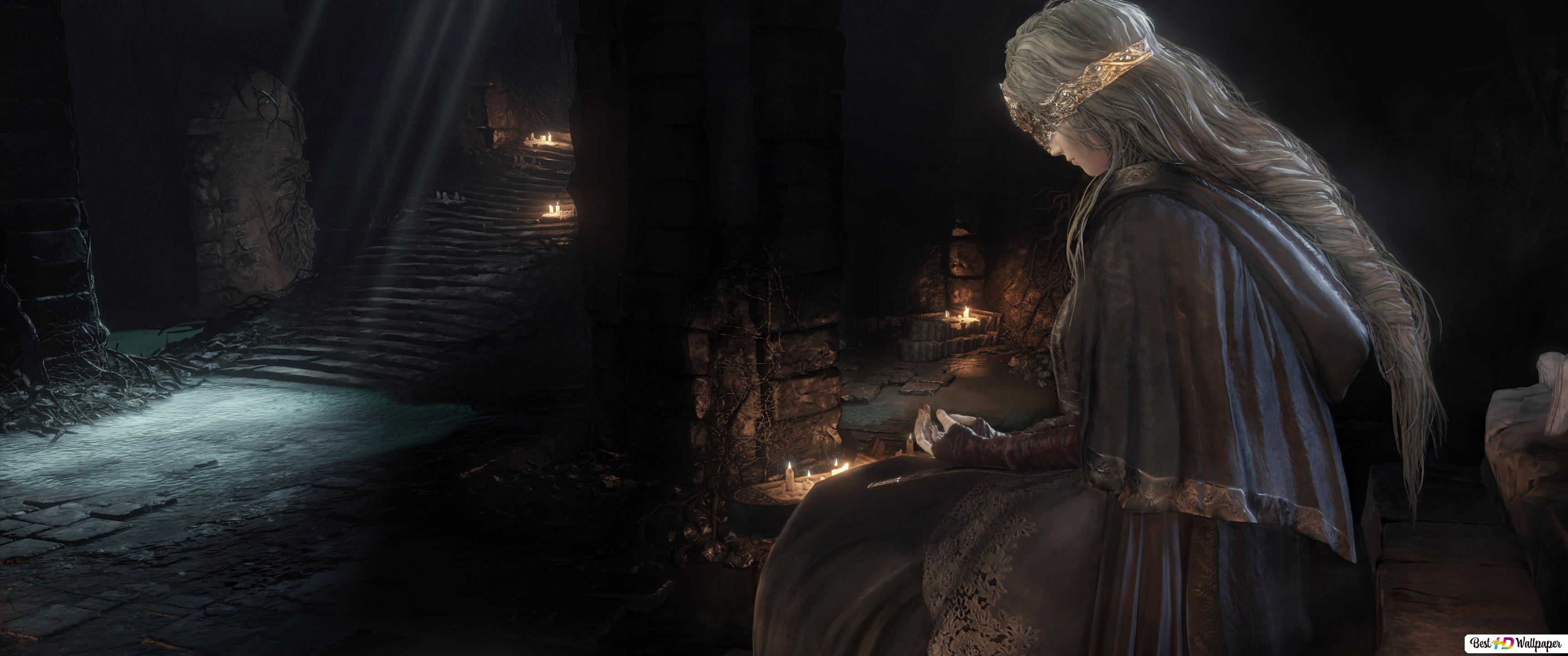 Dark Souls Iii Fire Keeper Hd Wallpaper Download
