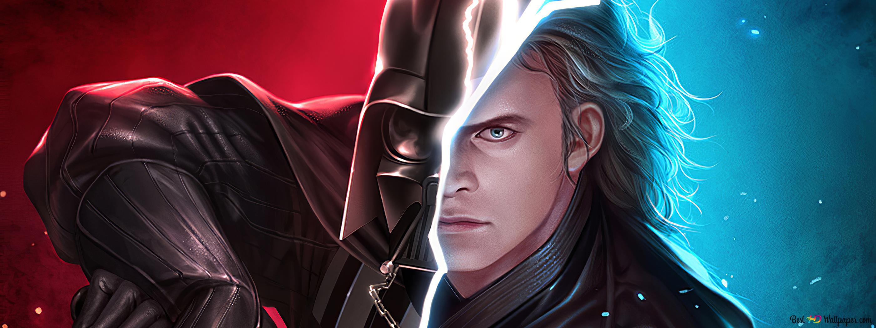 Darth Vader Anakin Skywalker Hd Wallpaper Download