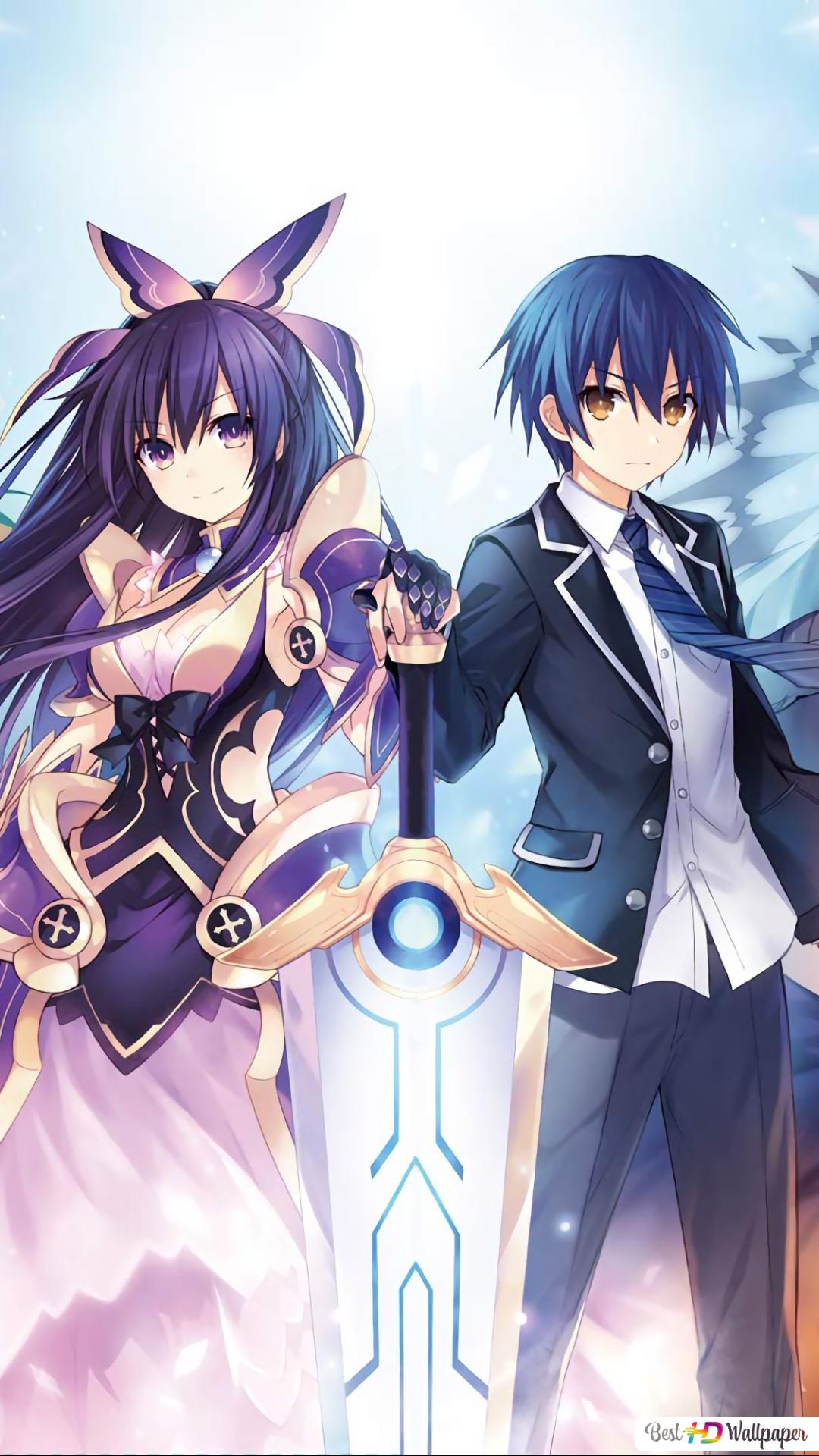 date a live anime wallpaper 1080x1920 35198 165