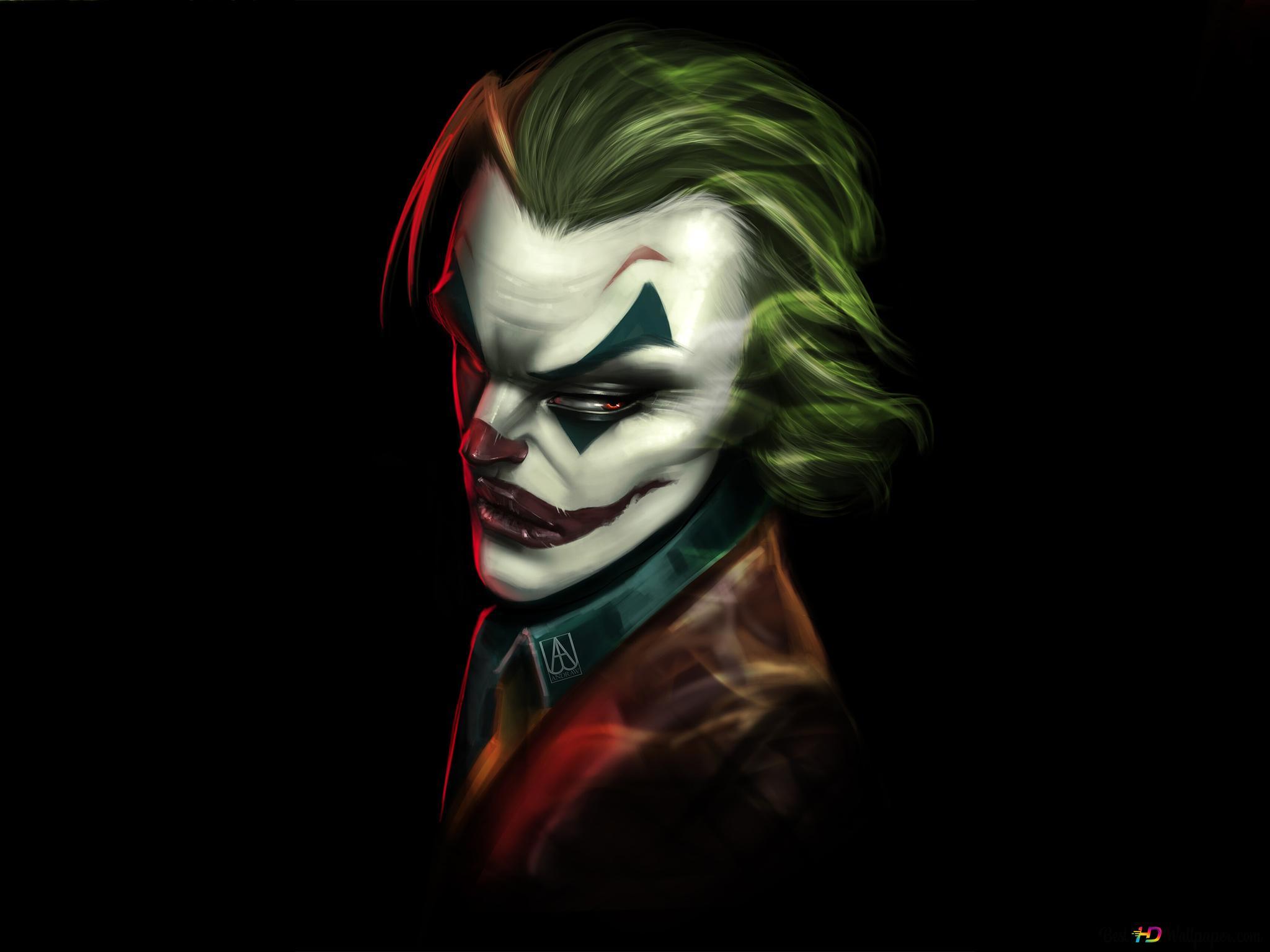 Dc電影 小丑高清壁紙下載