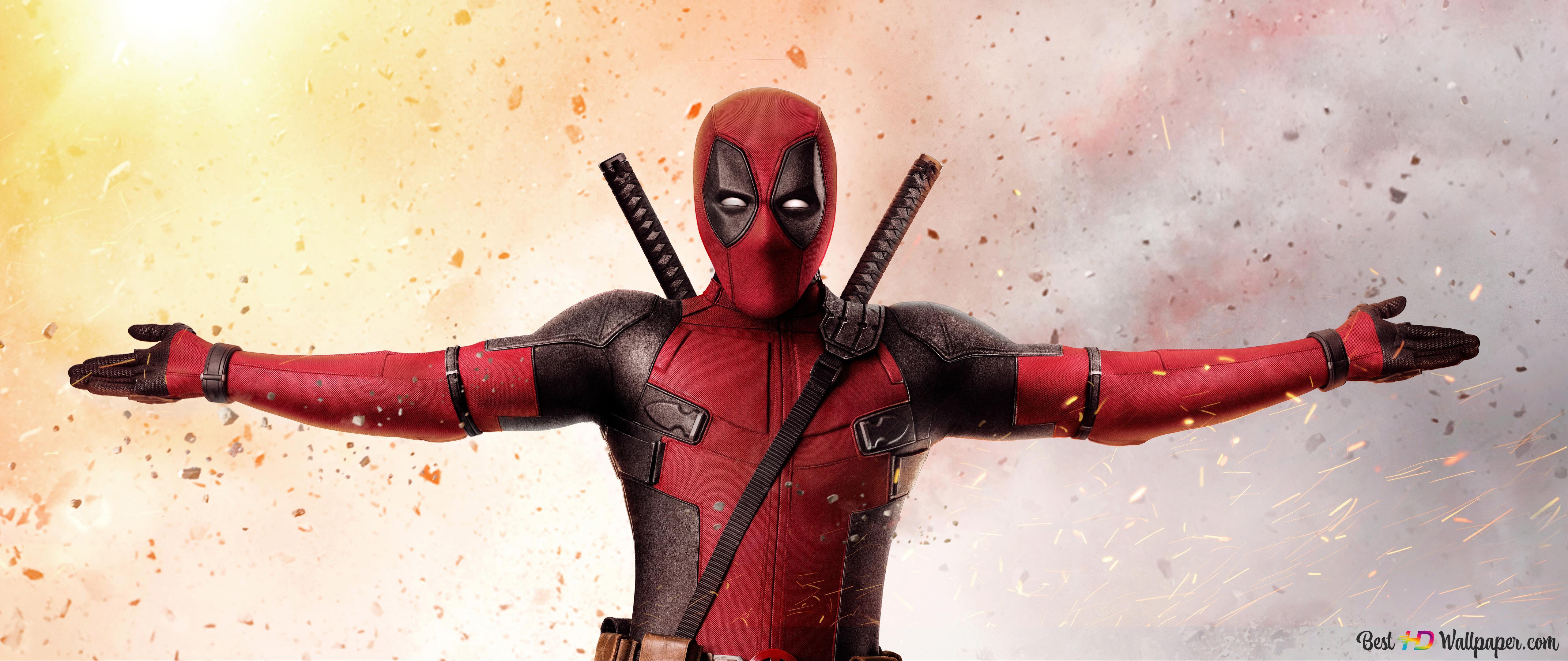 Deadpool 2 10k HD wallpaper download