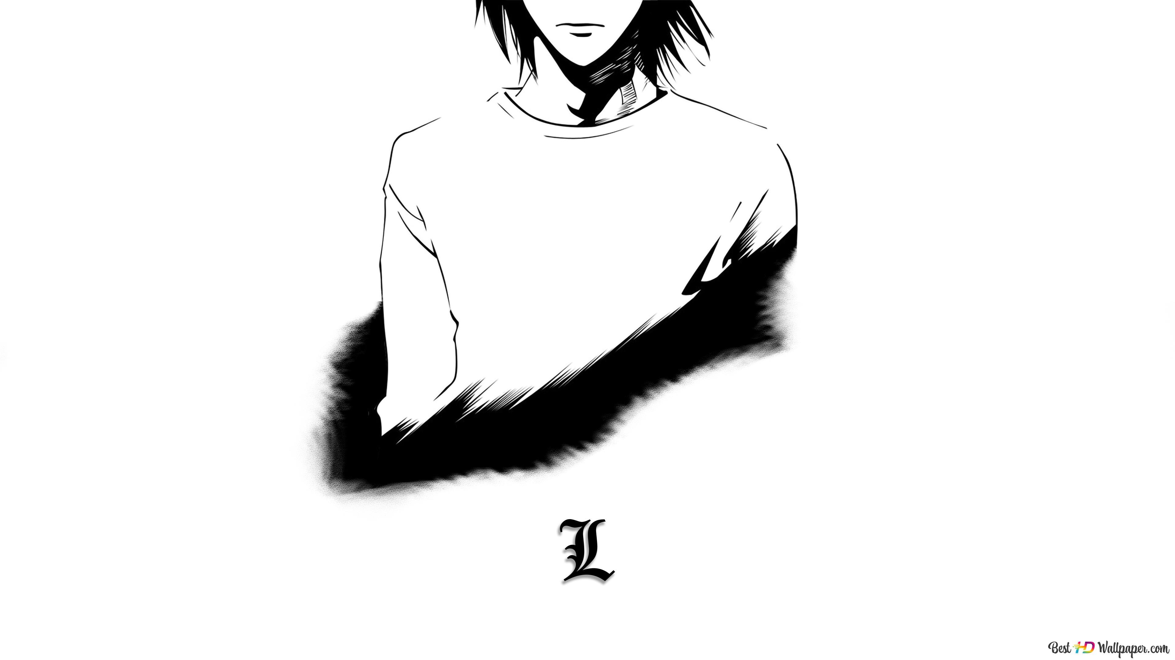 Death Note, L HD wallpaper download