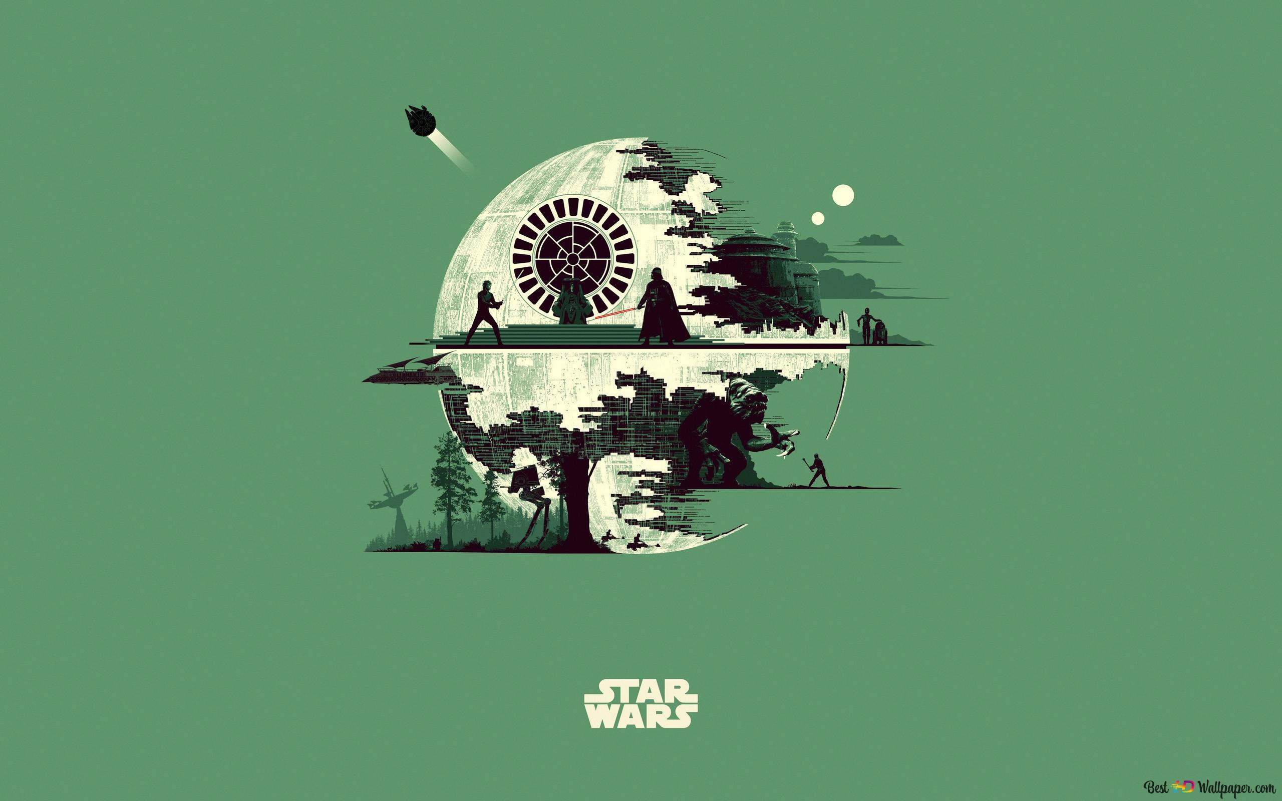 death star star wars wallpaper 2560x1600 39820 7