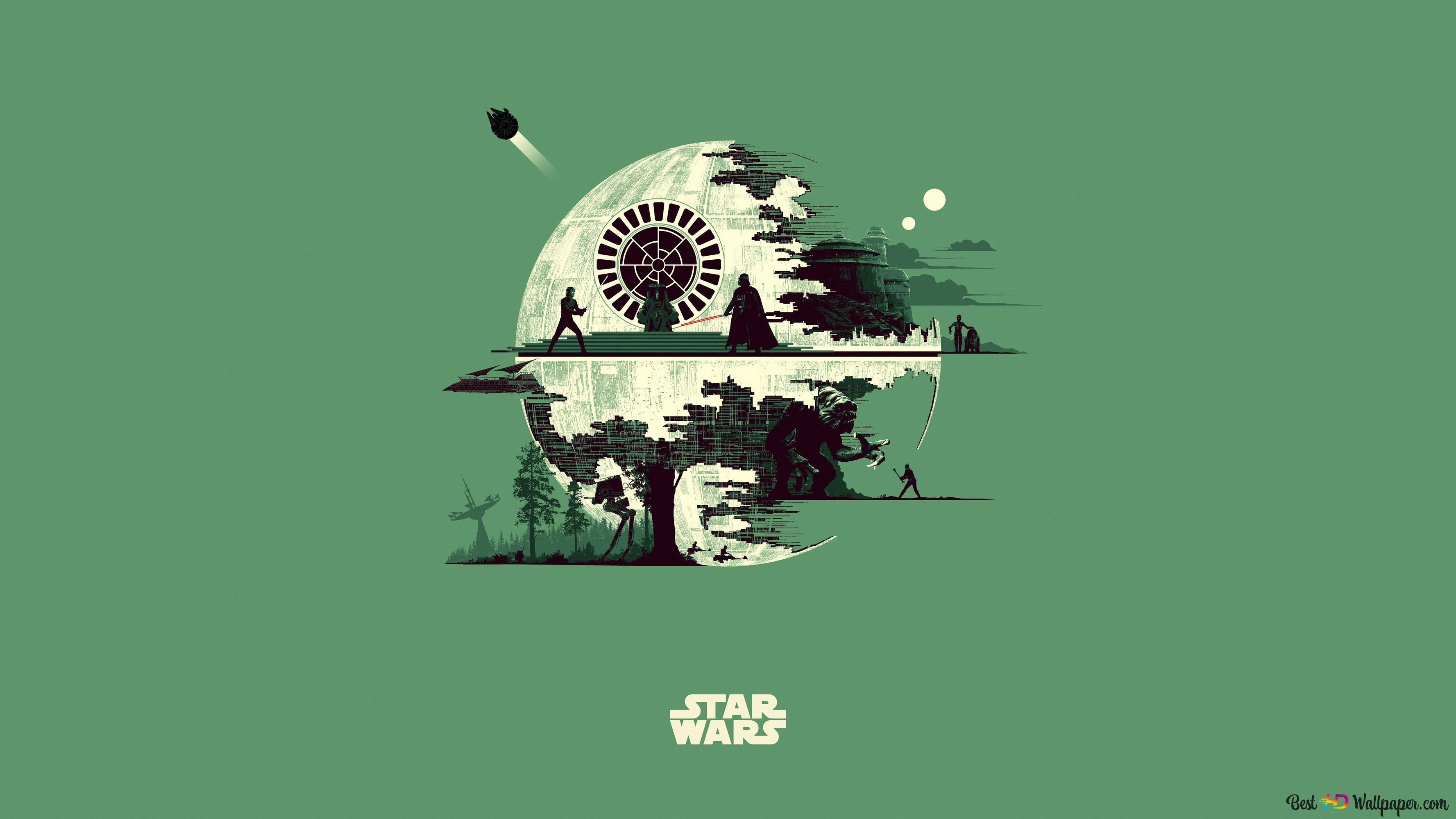 Death Star Star Wars Hd Wallpaper Download
