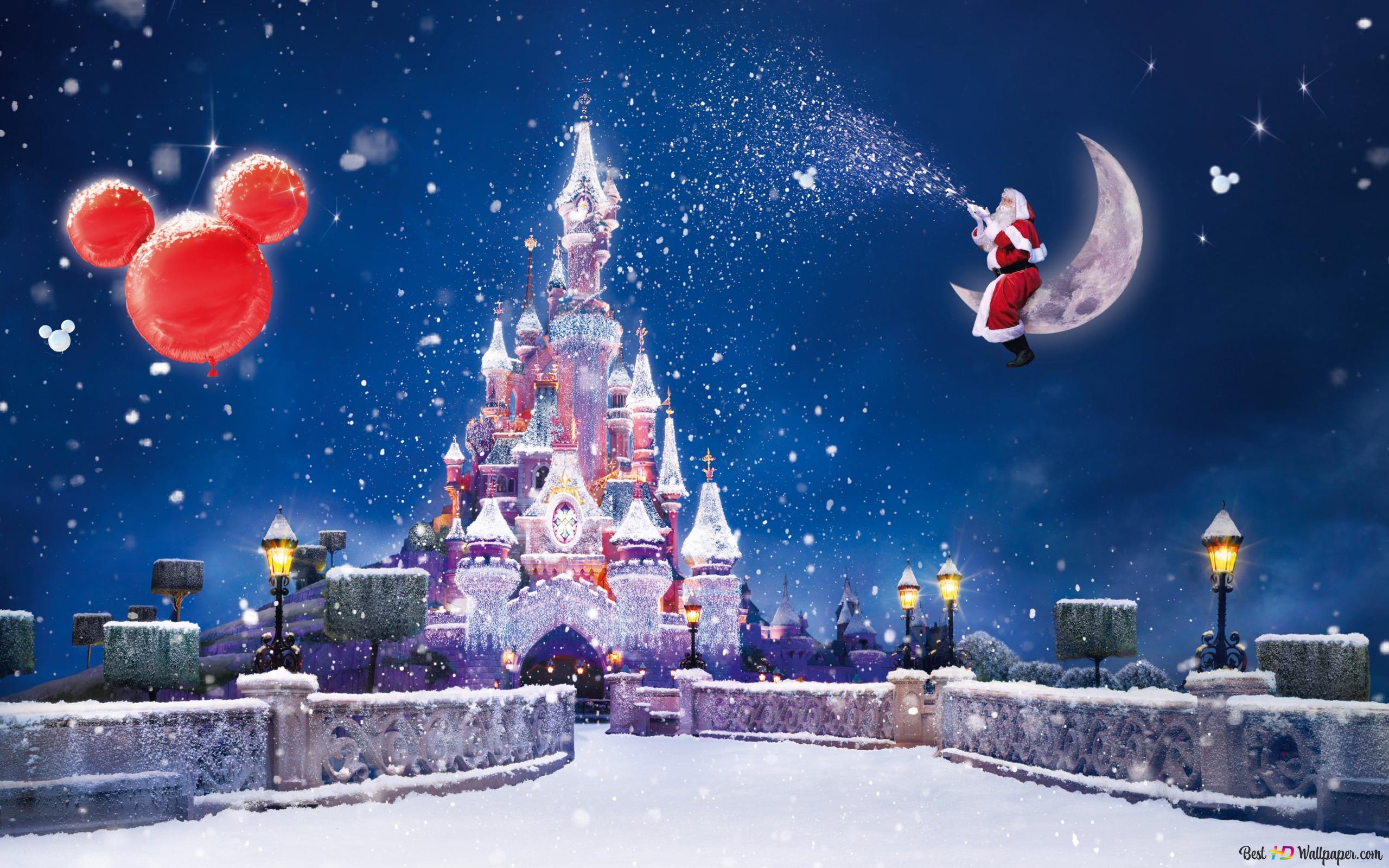 ディズニーランドクリスマス Hd壁紙のダウンロード