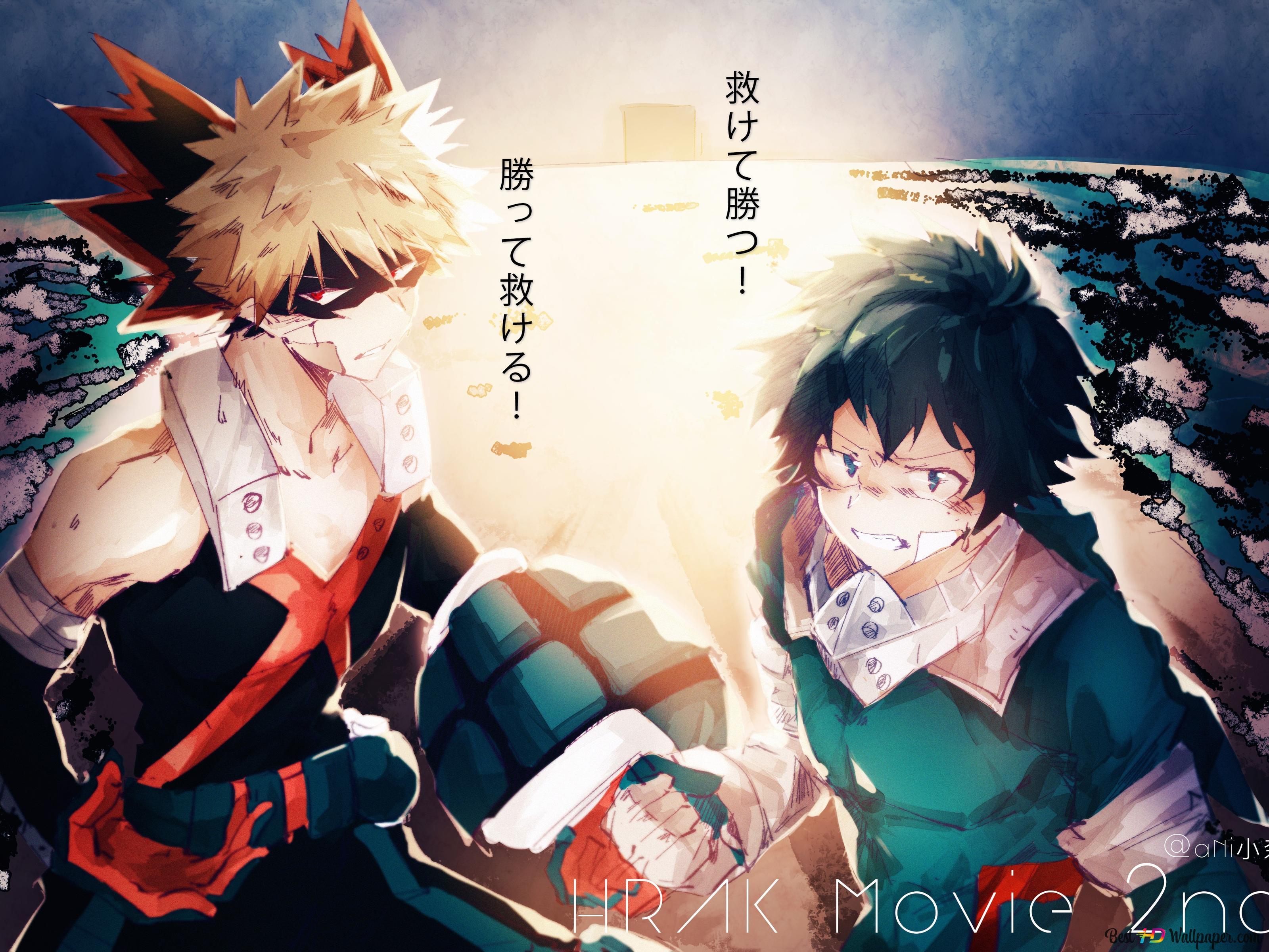 Deku Bakugo My Hero Academia Hd Wallpaper Download