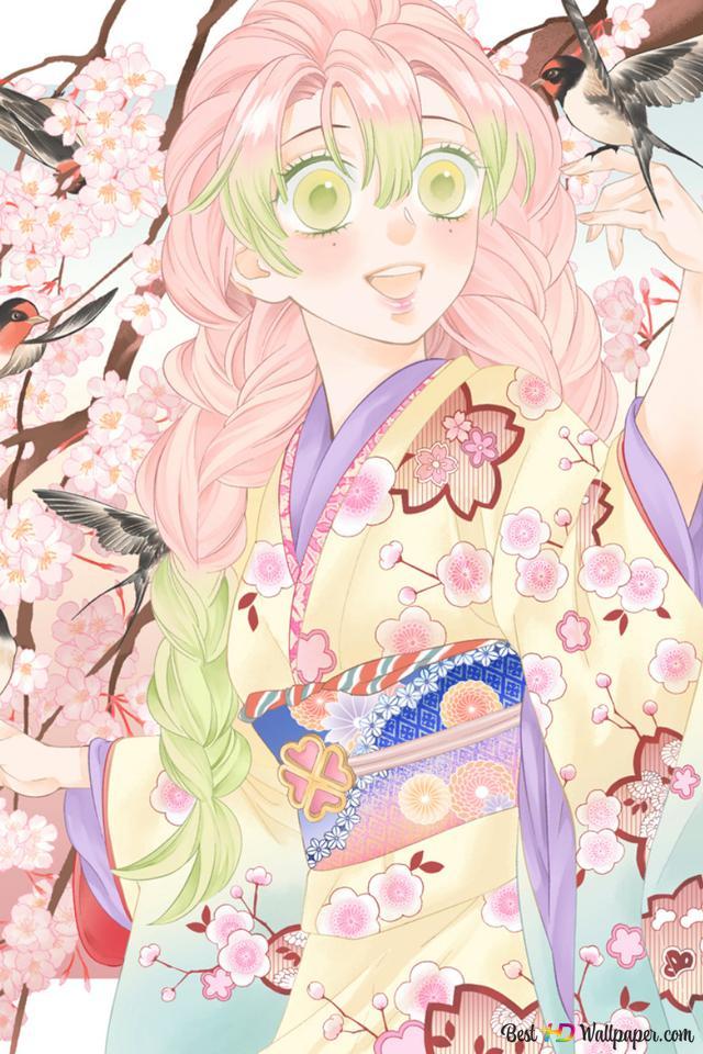 Demon Slayer Mitsuri Kanroji Hd Wallpaper Download Dual monitor wallpaper anime ·① download free awesome wallpapers for desktop computers and smartphones in any resolution: demon slayer mitsuri kanroji hd