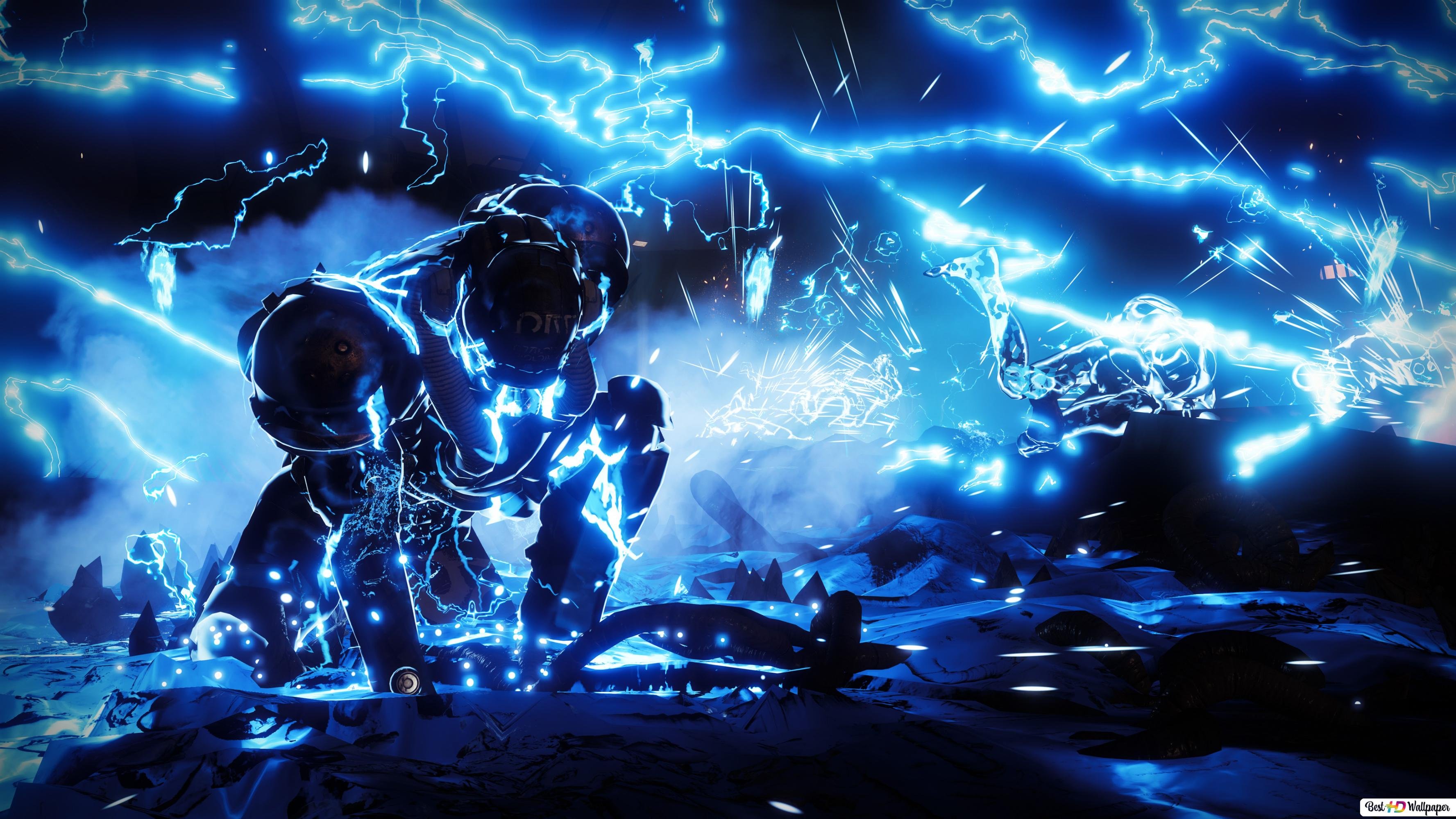 Destiny 2 Forsaken Blue Spark Hd Wallpaper Download