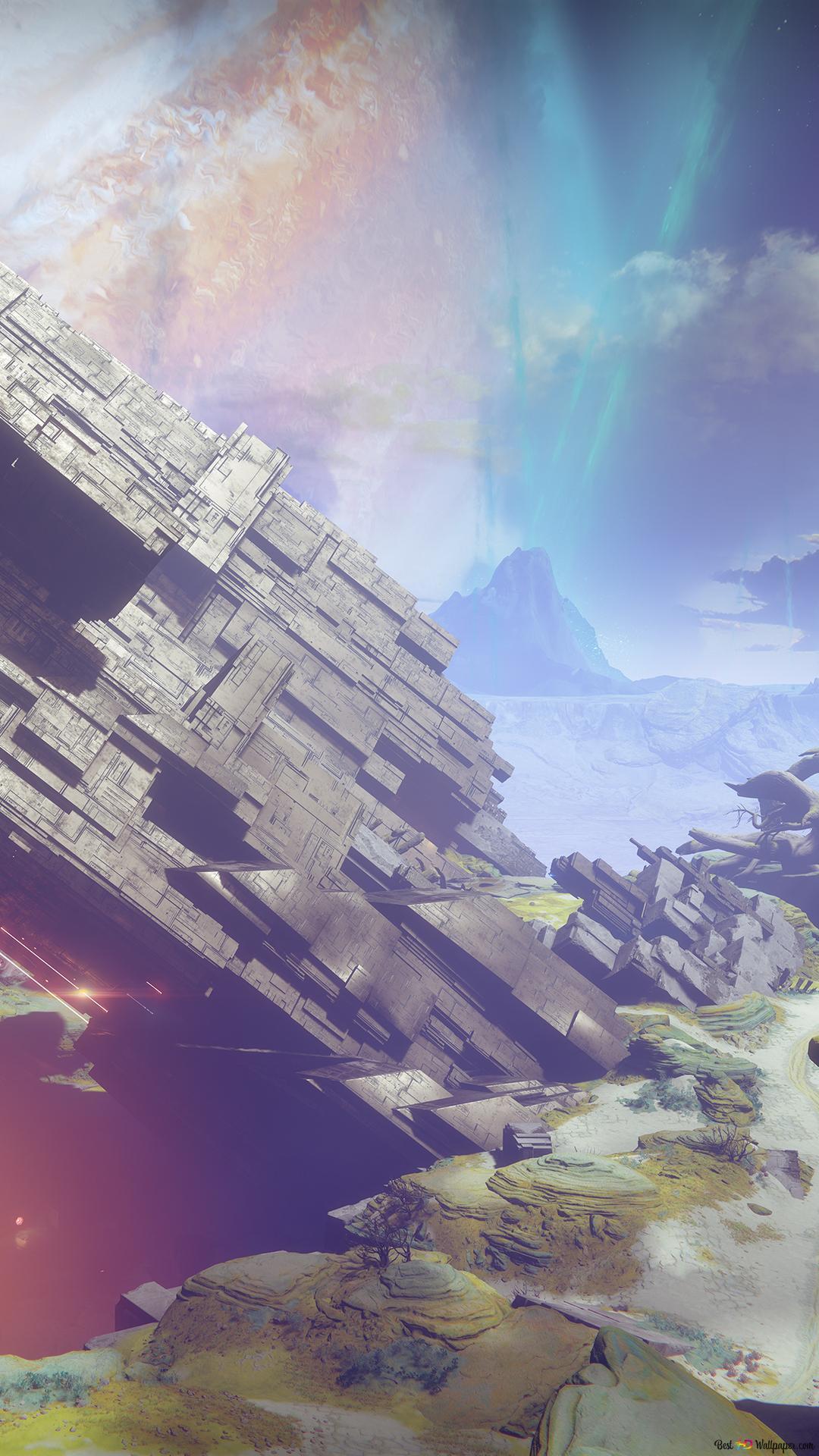 destiny 2 vex structure on io hd
