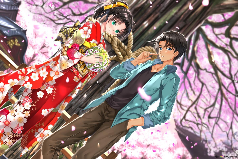 Detective Conan - Kazuha Toyama & Heiji Hattori HD wallpaper download