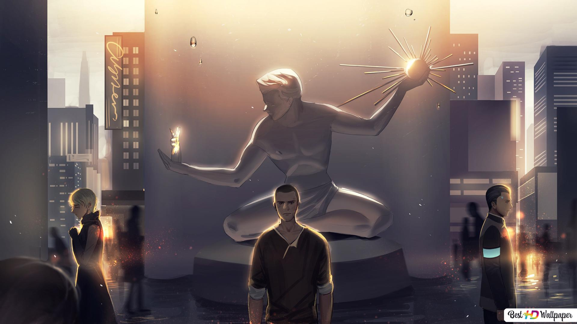Detroit Become Human Connor Kara Markus Hd Wallpaper Download